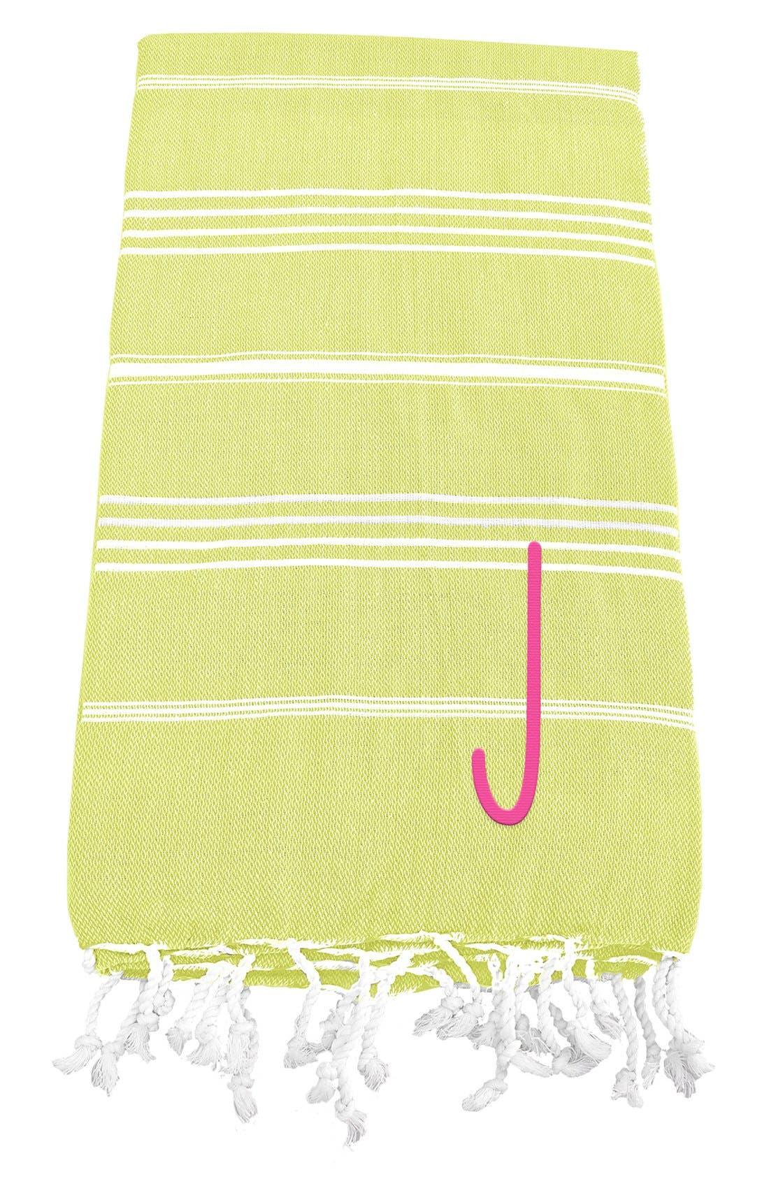 Monogram Turkish Cotton Towel,                             Main thumbnail 39, color,