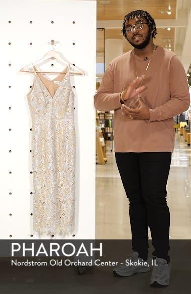 Aurora Lace Sheath Dress, sales video thumbnail