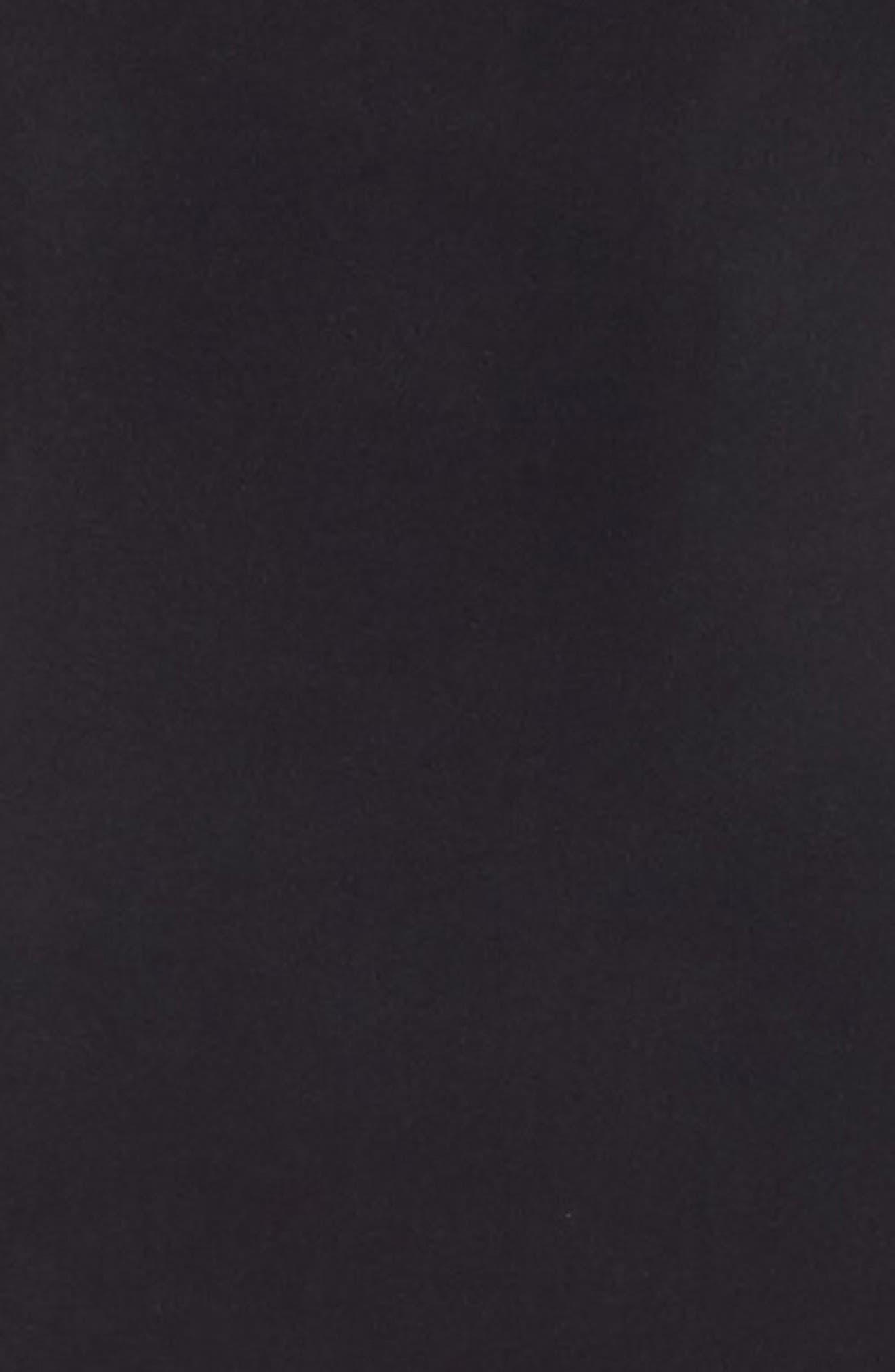 Donna Karan The Luxe Opaque Collection Bodystocking,                             Alternate thumbnail 5, color,                             001