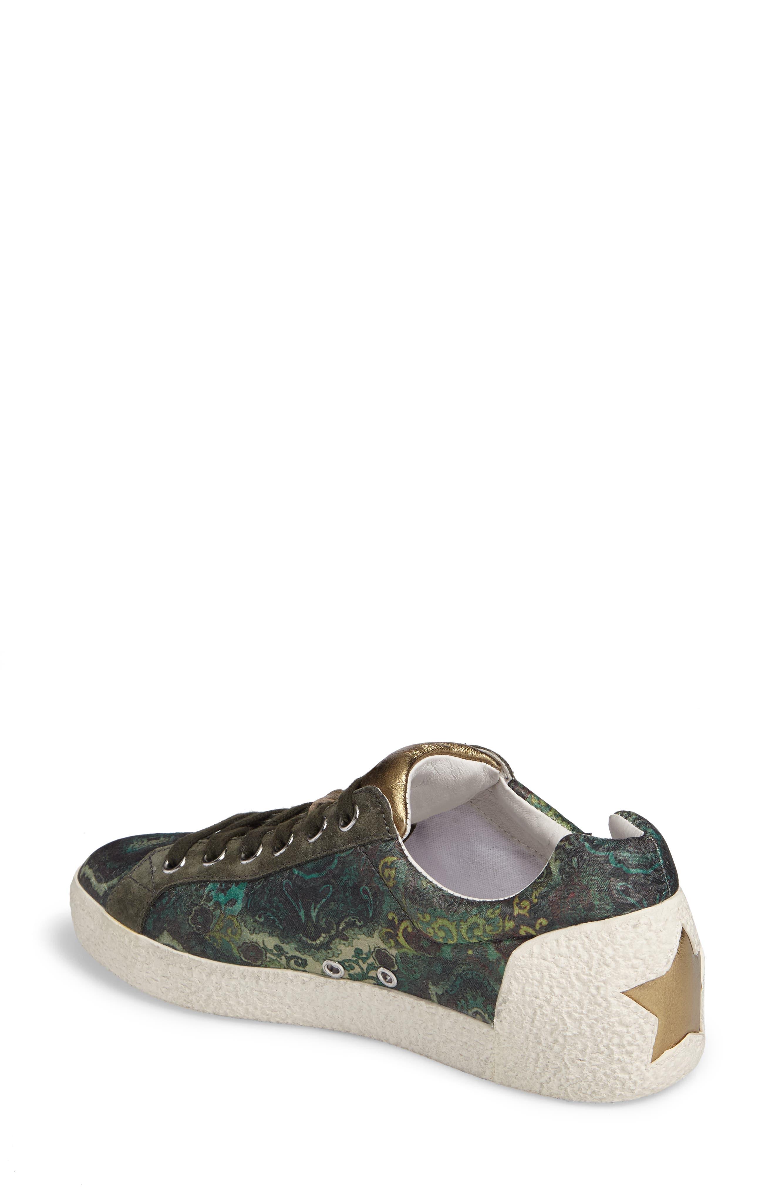Embellished Low-Top Sneaker,                             Alternate thumbnail 2, color,