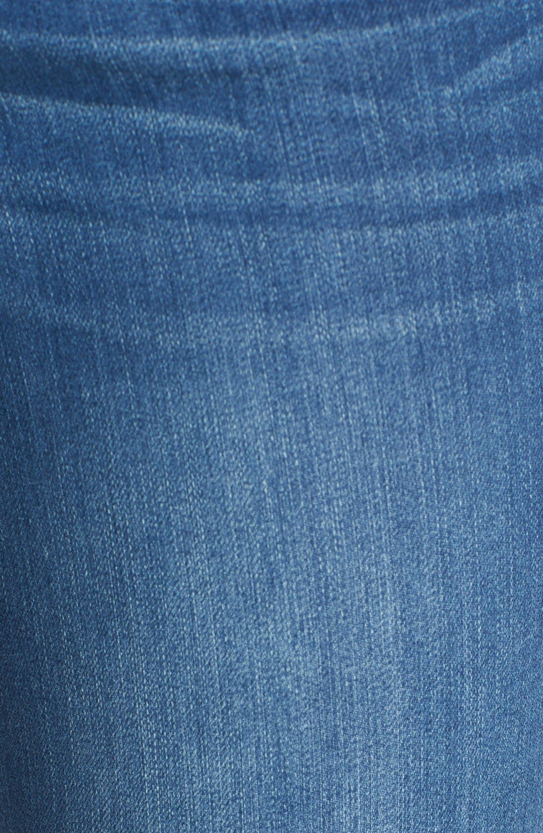 'Ab-solution' Stretch Ankle Skinny Jeans,                             Alternate thumbnail 2, color,                             421