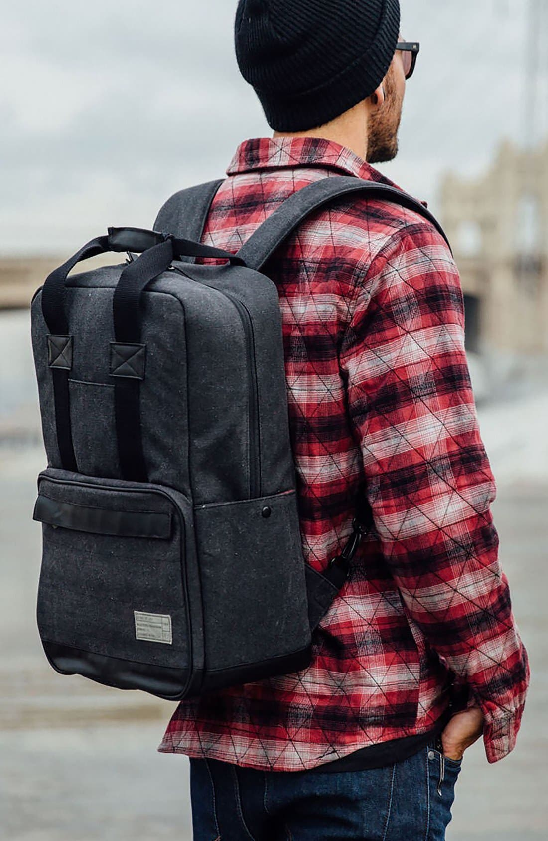 Supply Convertible Water Resistant Backpack,                             Alternate thumbnail 7, color,                             265