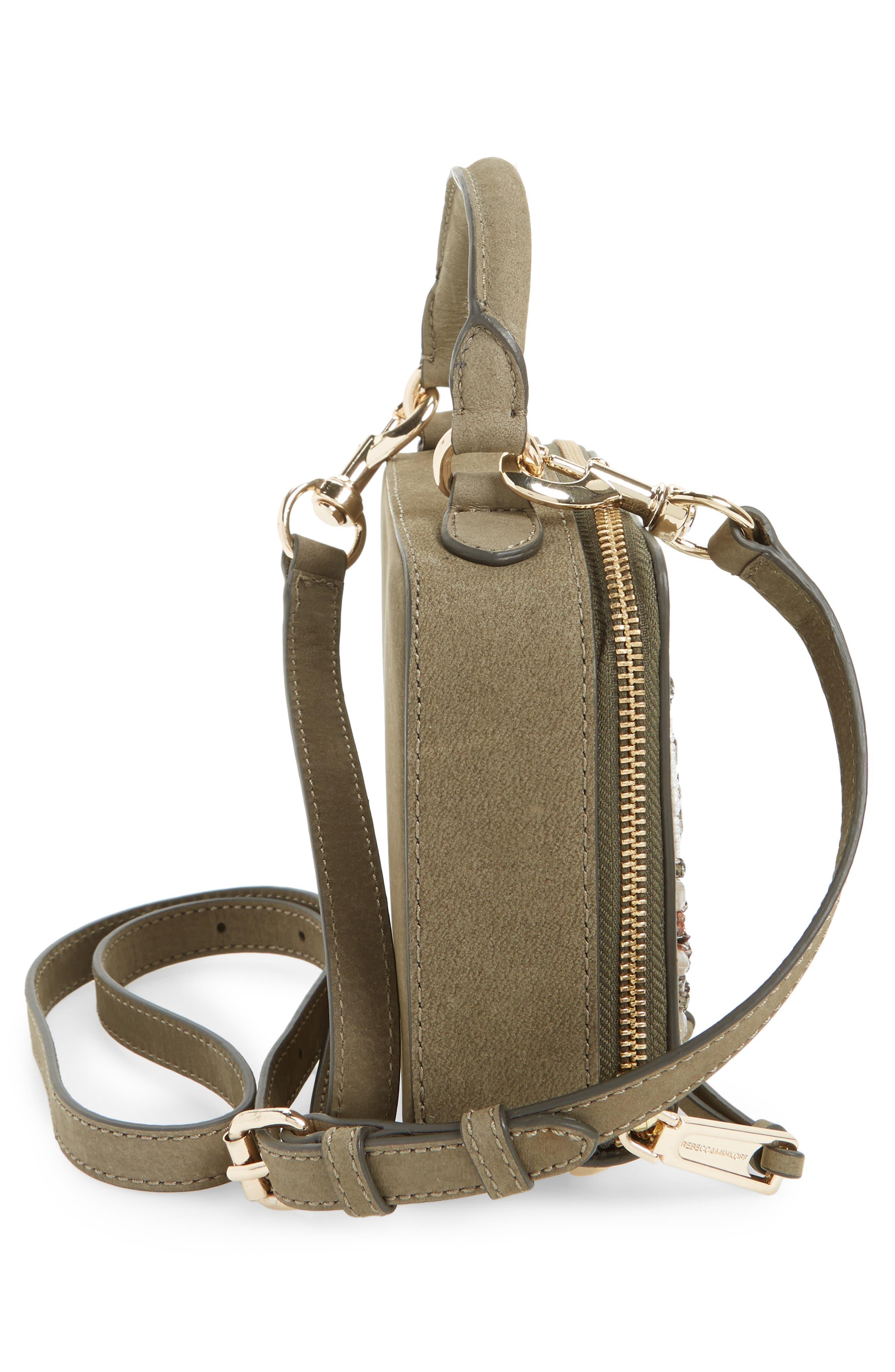 Beaded Crossbody Bag,                             Alternate thumbnail 5, color,                             305