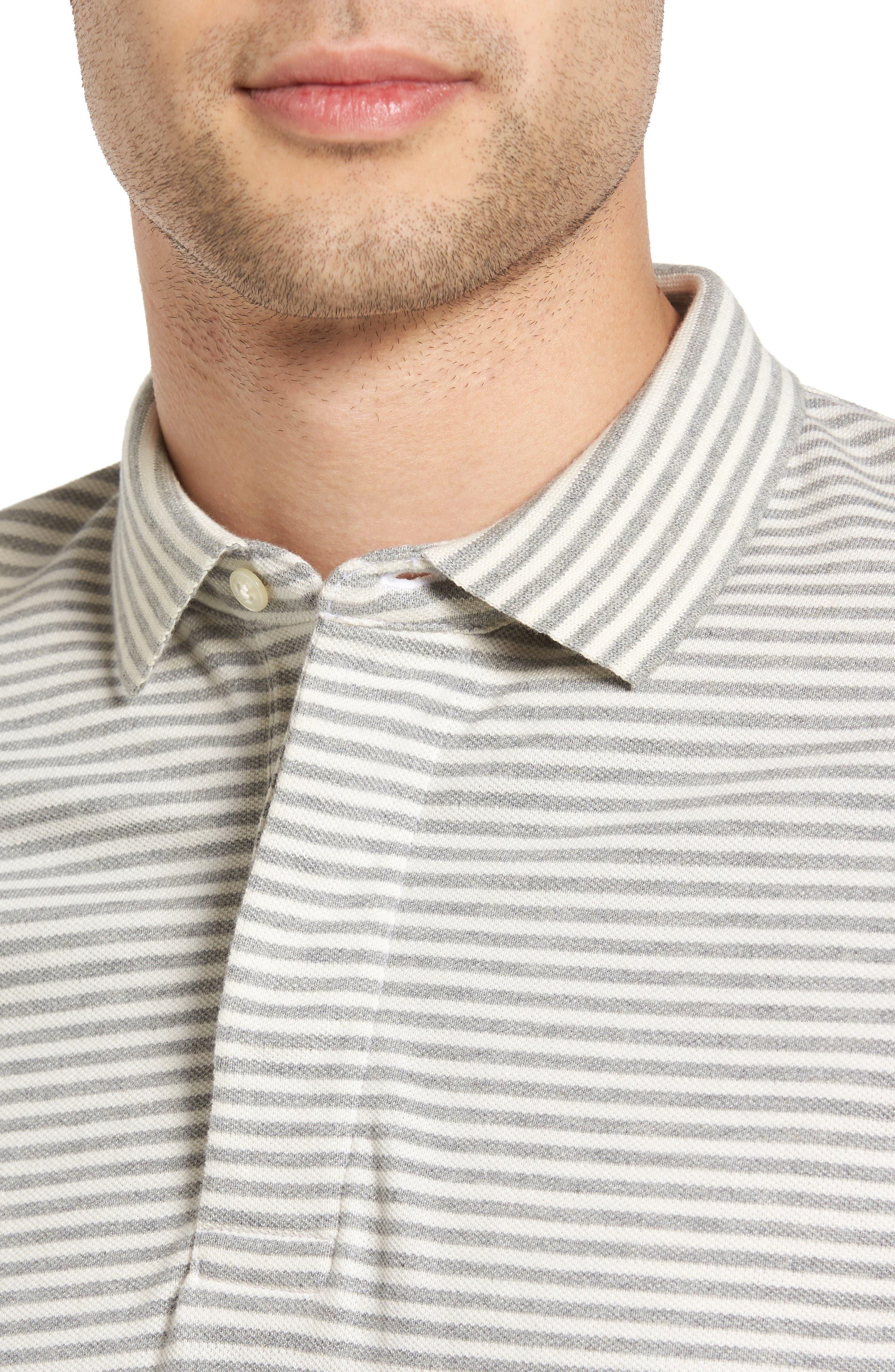 Menon Block Stripe Polo,                             Alternate thumbnail 7, color,