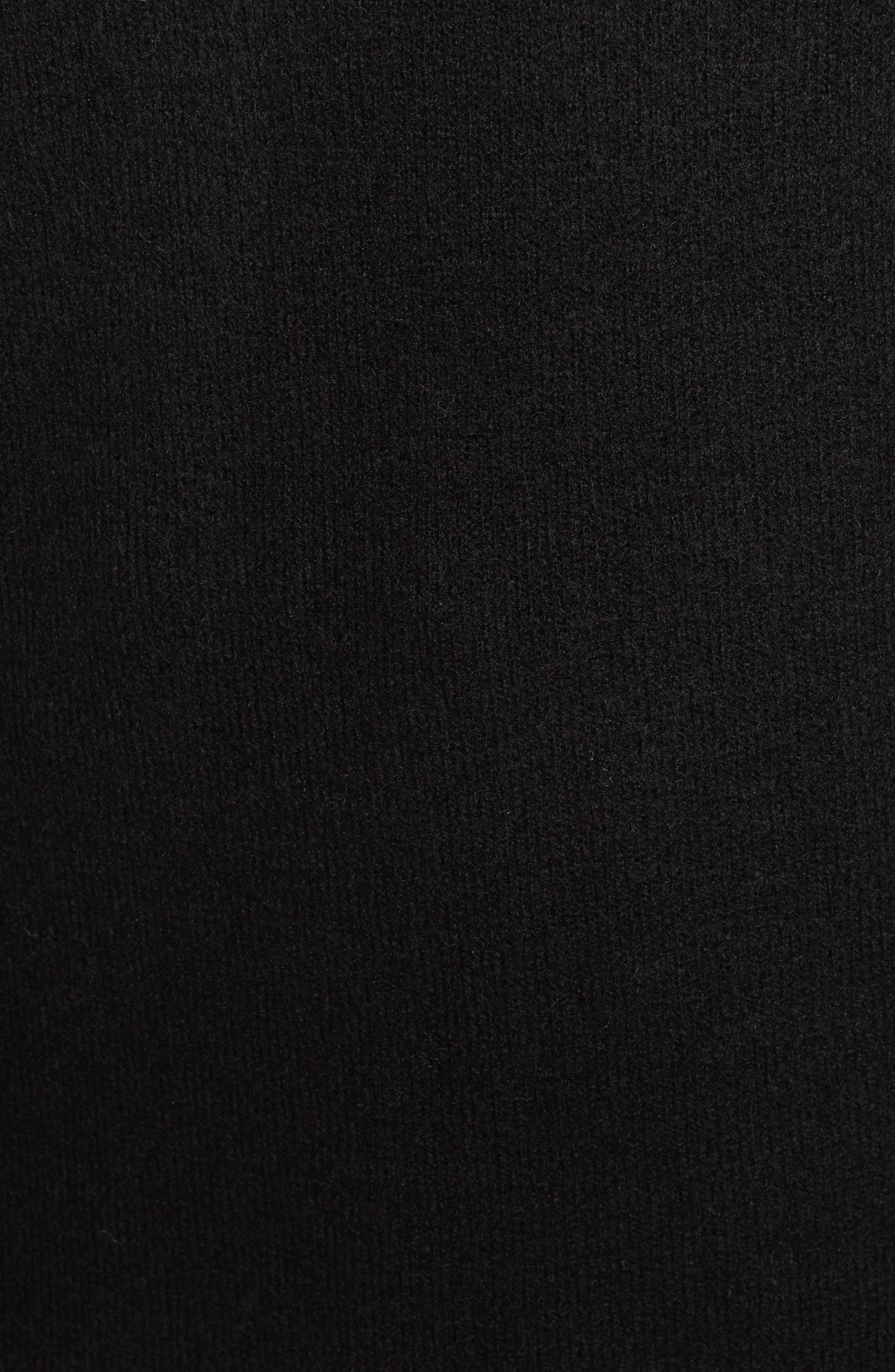 Half Zip Pullover,                             Alternate thumbnail 5, color,                             001