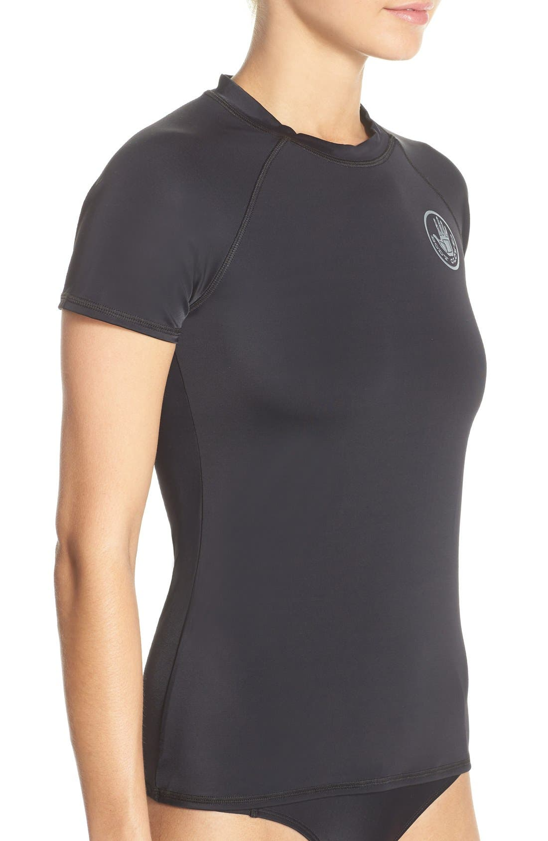 'Smoothies in Motion' Short Sleeve Rashguard,                             Alternate thumbnail 14, color,