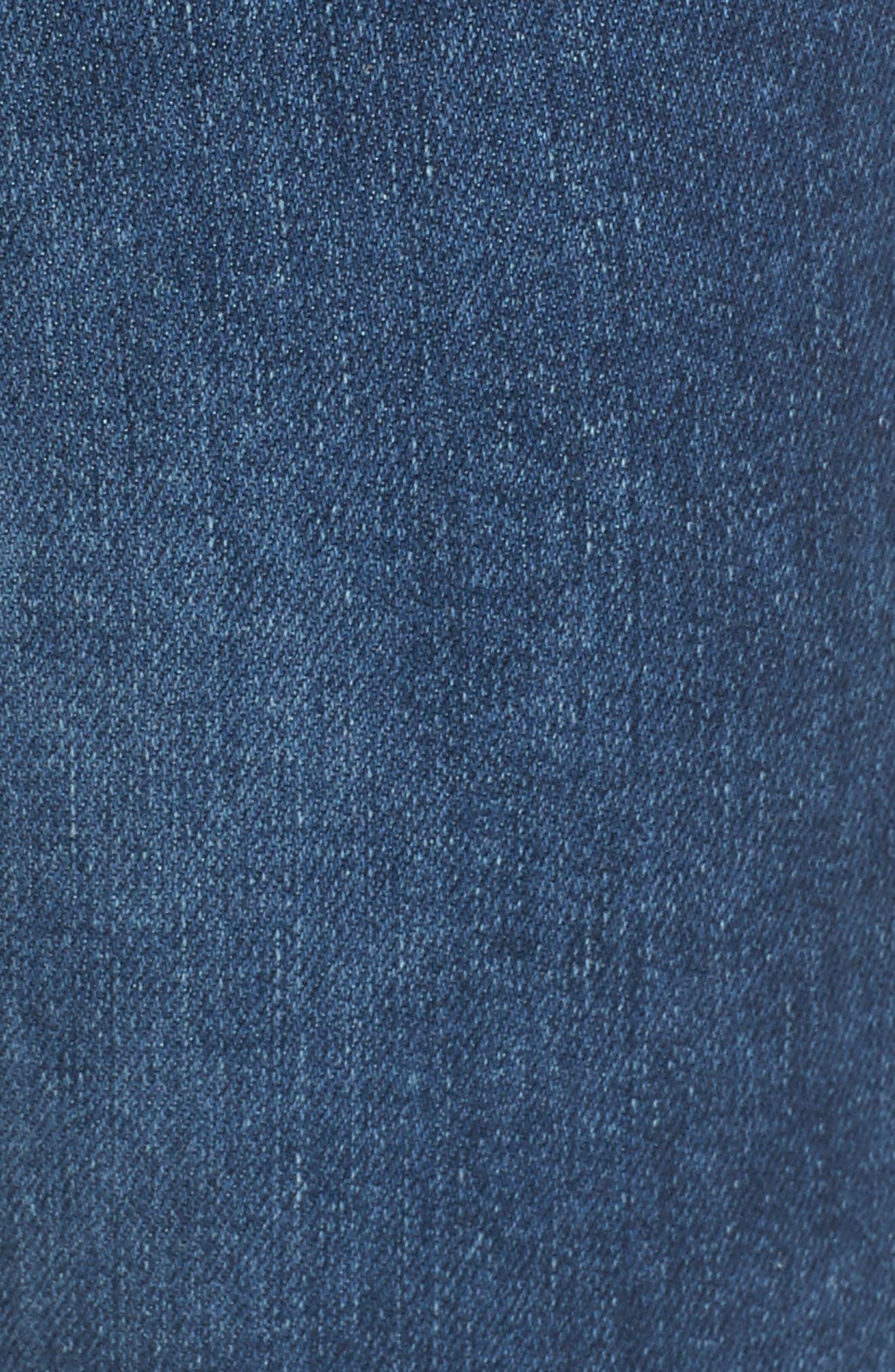Chrissy High Waist Skinny Jeans,                             Alternate thumbnail 5, color,                             455