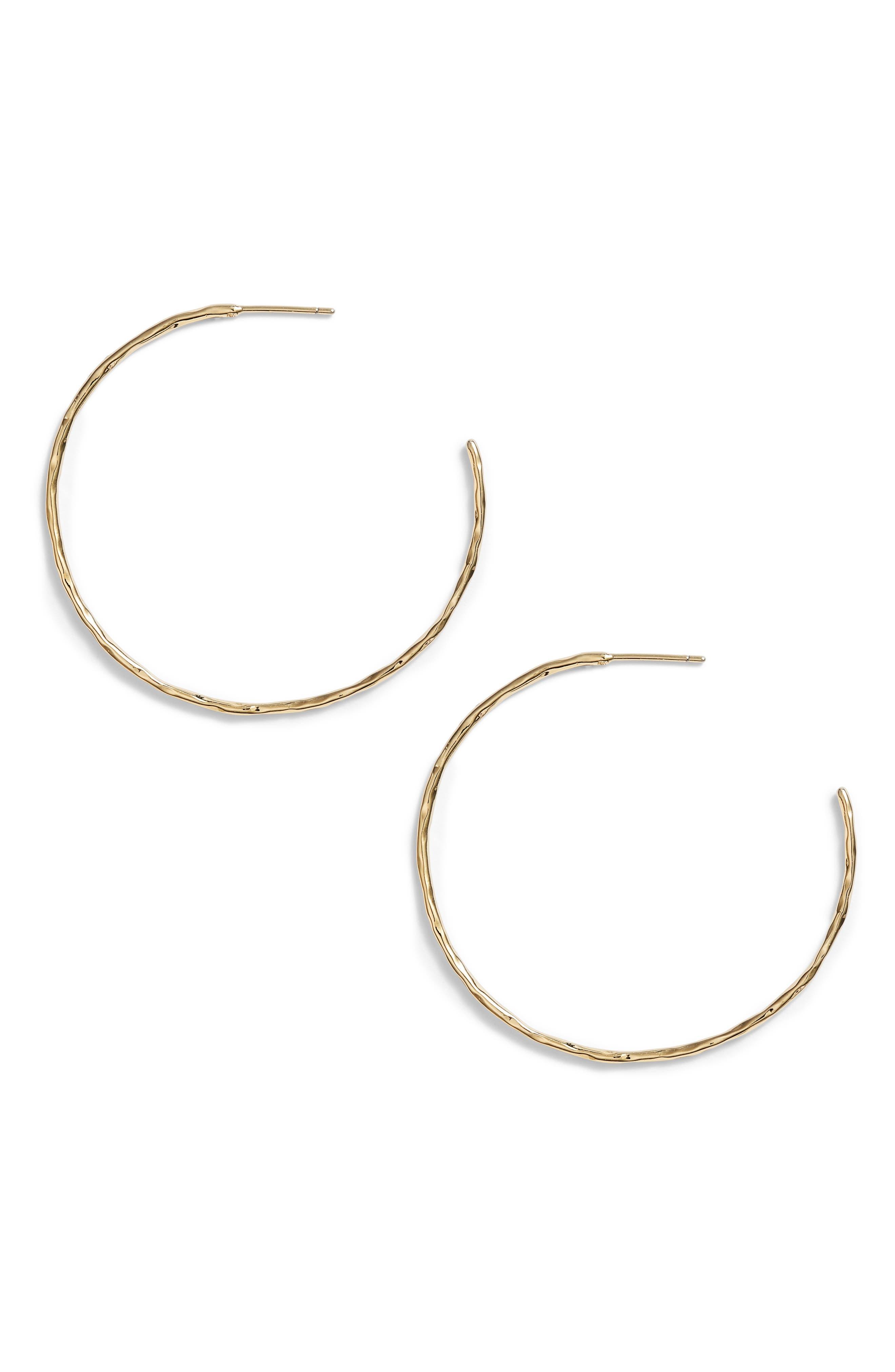 Taner Hoop Earrings,                         Main,                         color, GOLD