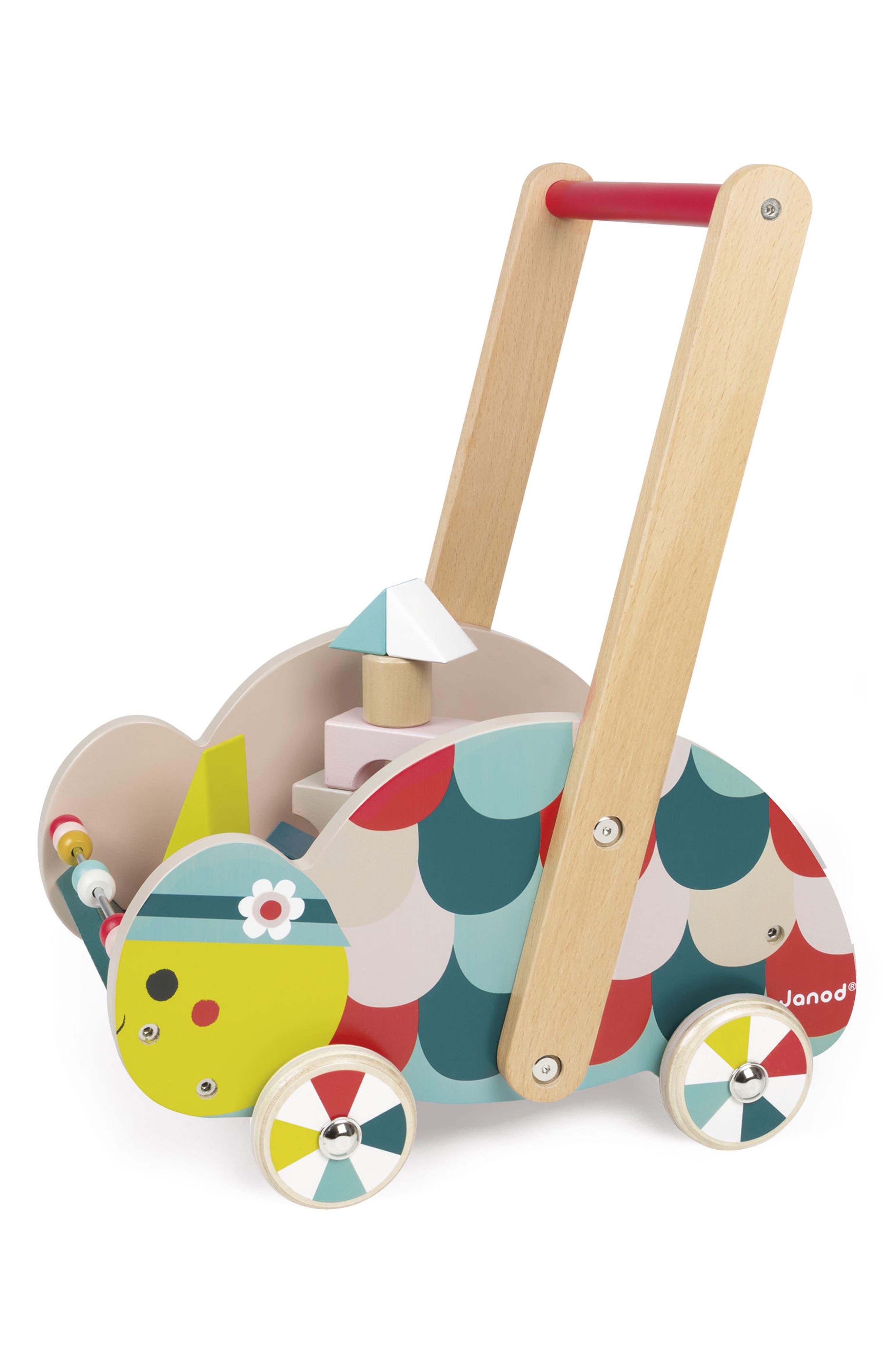 Wood Turtle Cart,                             Main thumbnail 1, color,                             MULTI