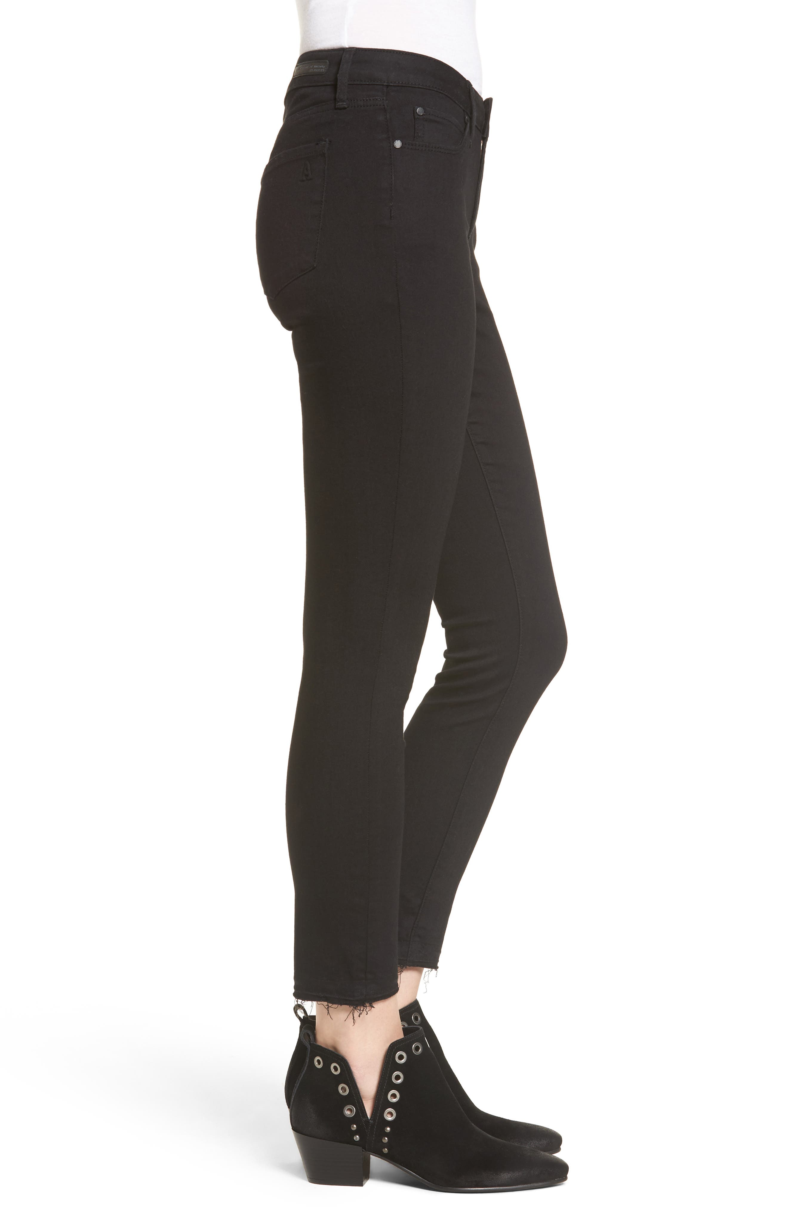 Carly Crop Skinny Jeans,                             Alternate thumbnail 3, color,