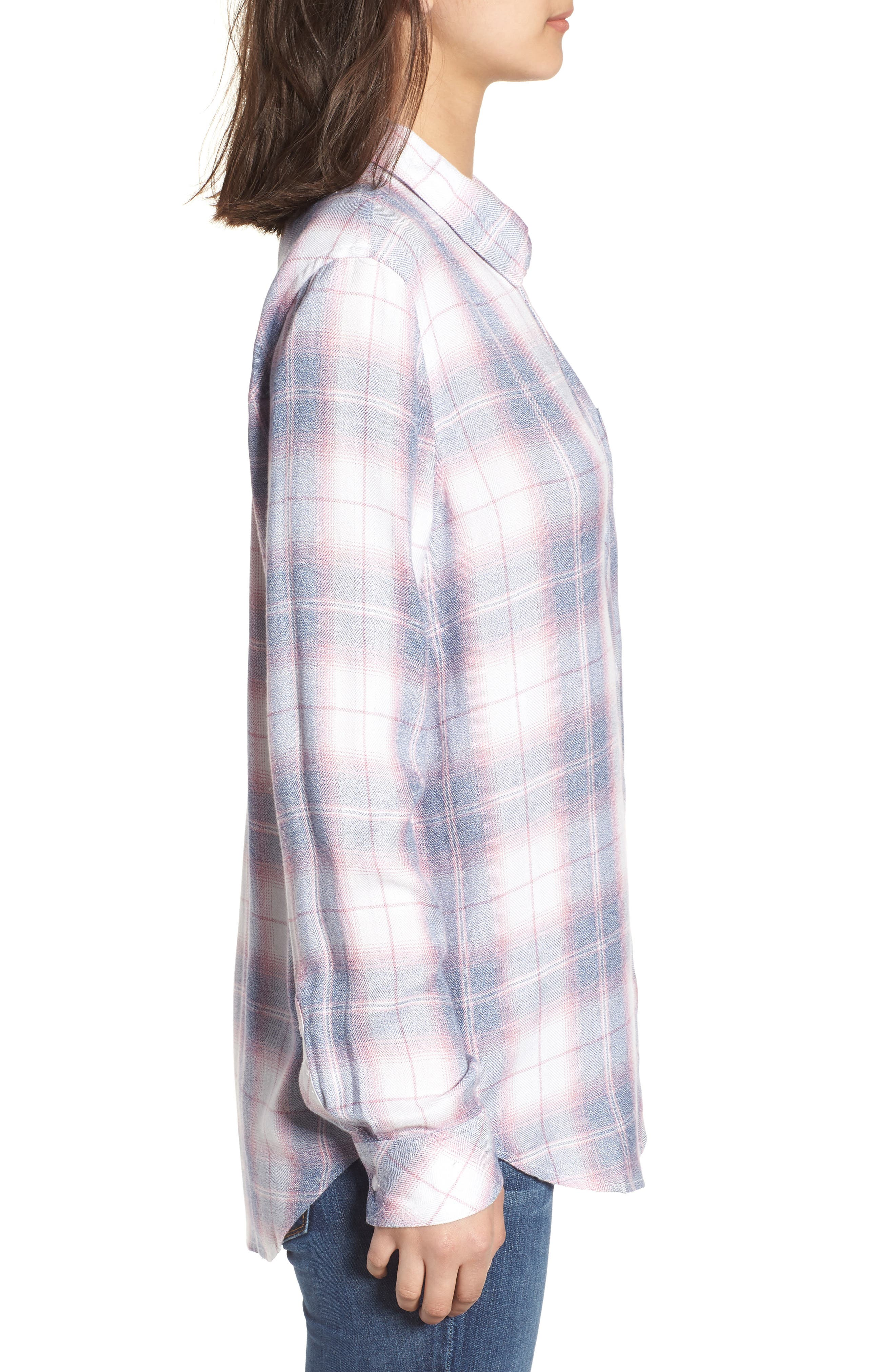 Hunter Plaid Shirt,                             Alternate thumbnail 330, color,