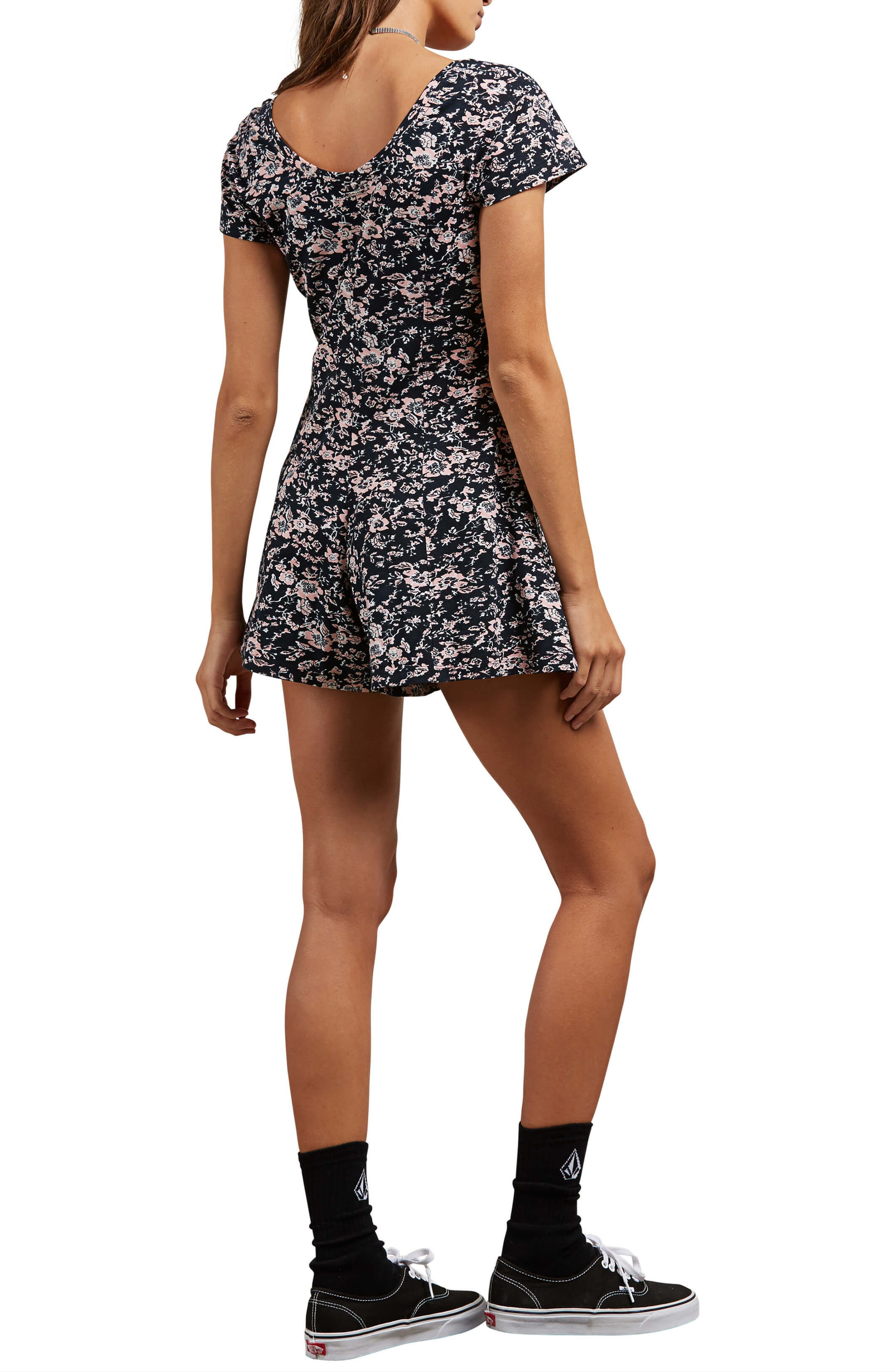 What a Looker Floral Print Romper,                             Alternate thumbnail 2, color,                             663