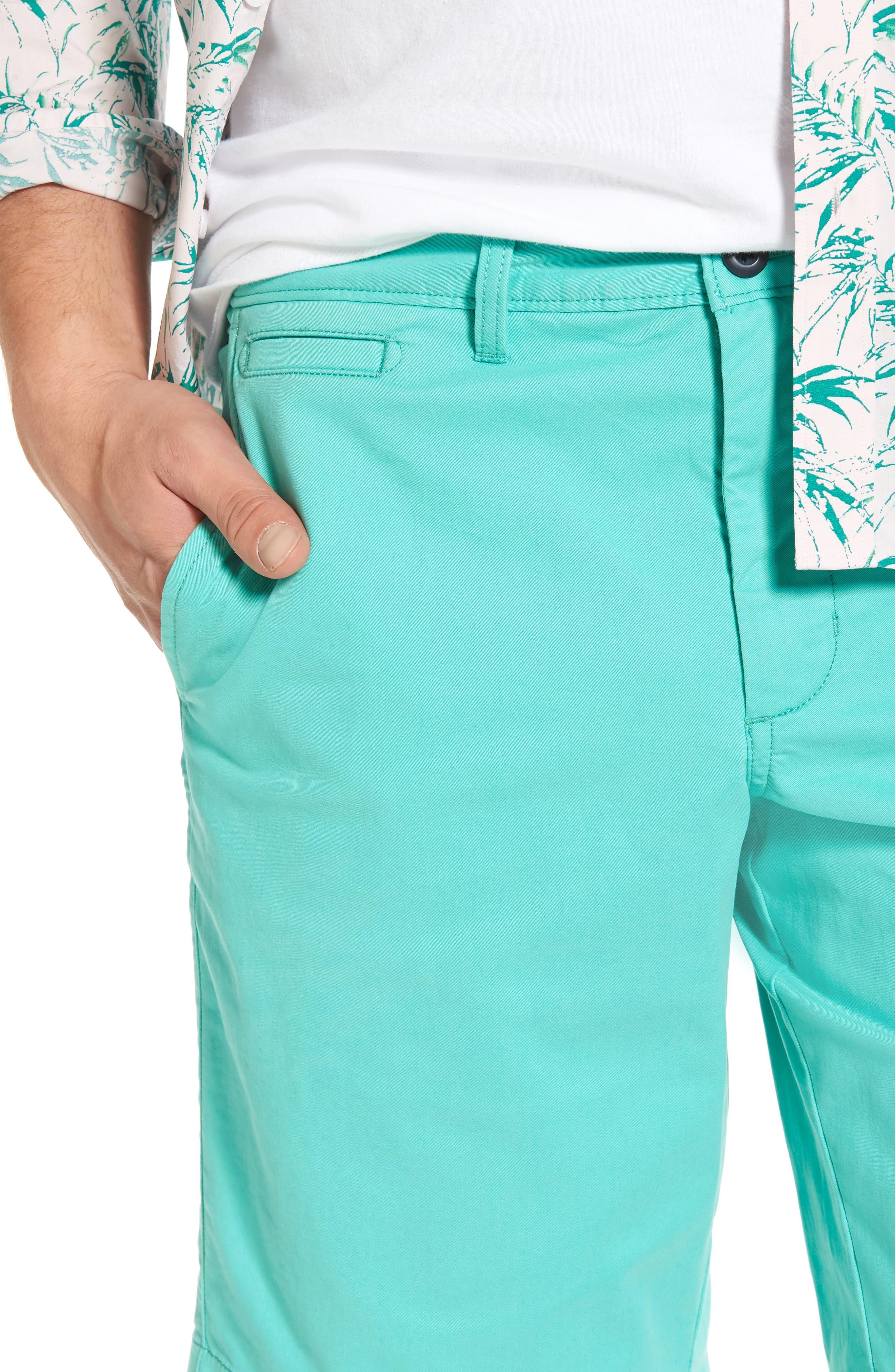 Ballard Slim Fit Stretch Chino 11-Inch Shorts,                             Alternate thumbnail 57, color,