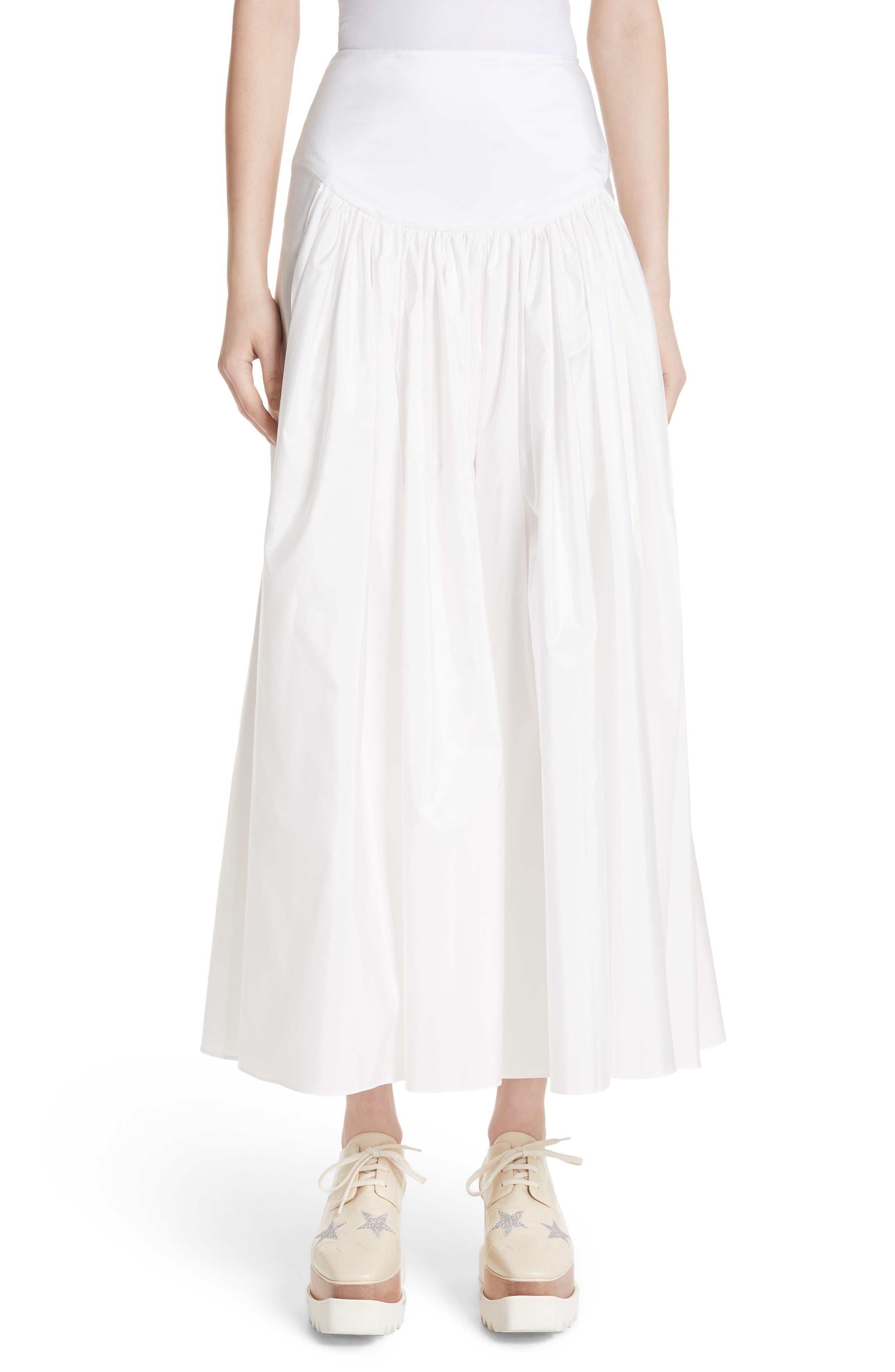 Taffeta Maxi Skirt,                             Main thumbnail 1, color,                             100