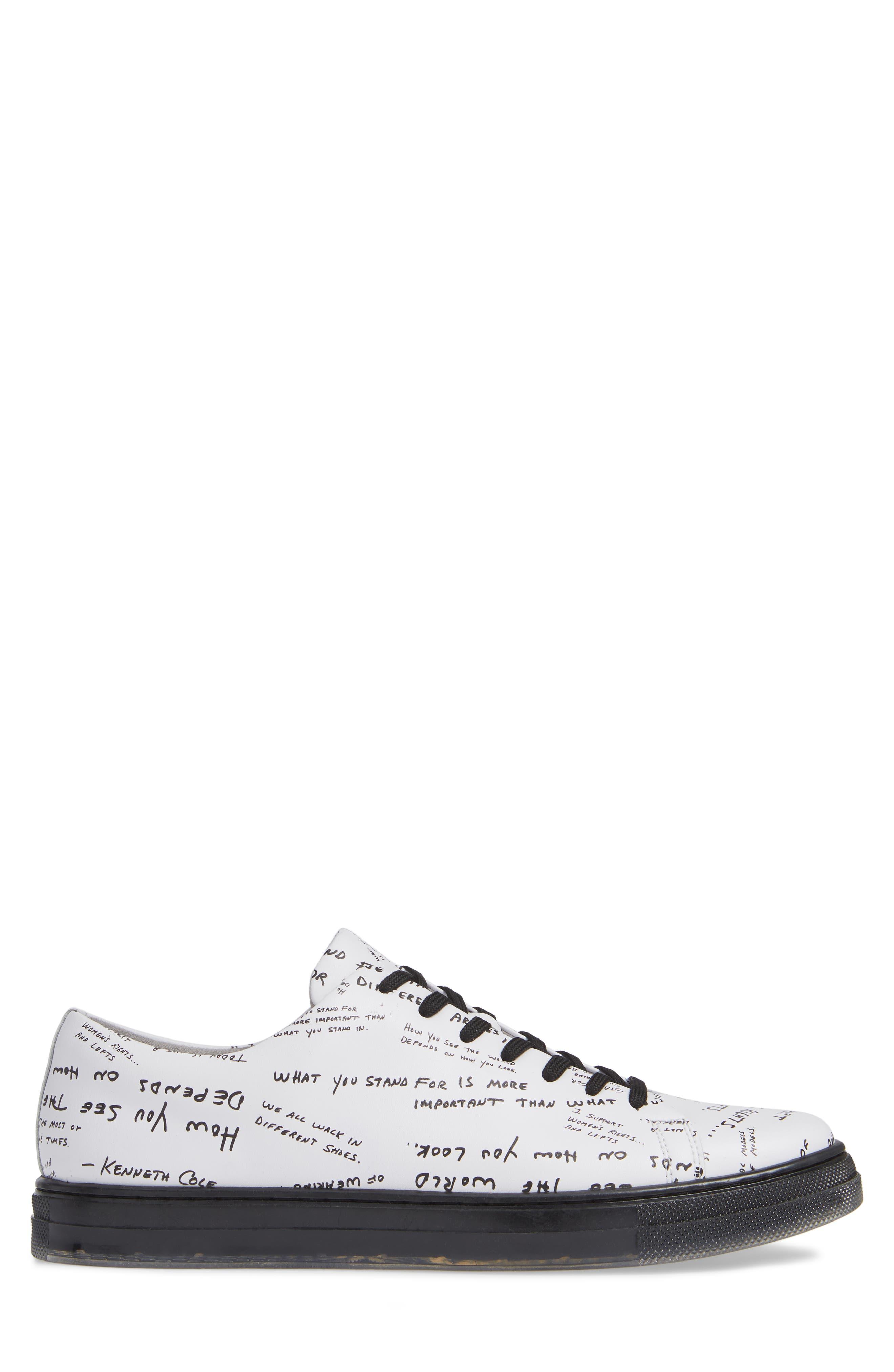 Colvin Low Sneaker,                             Alternate thumbnail 3, color,                             110