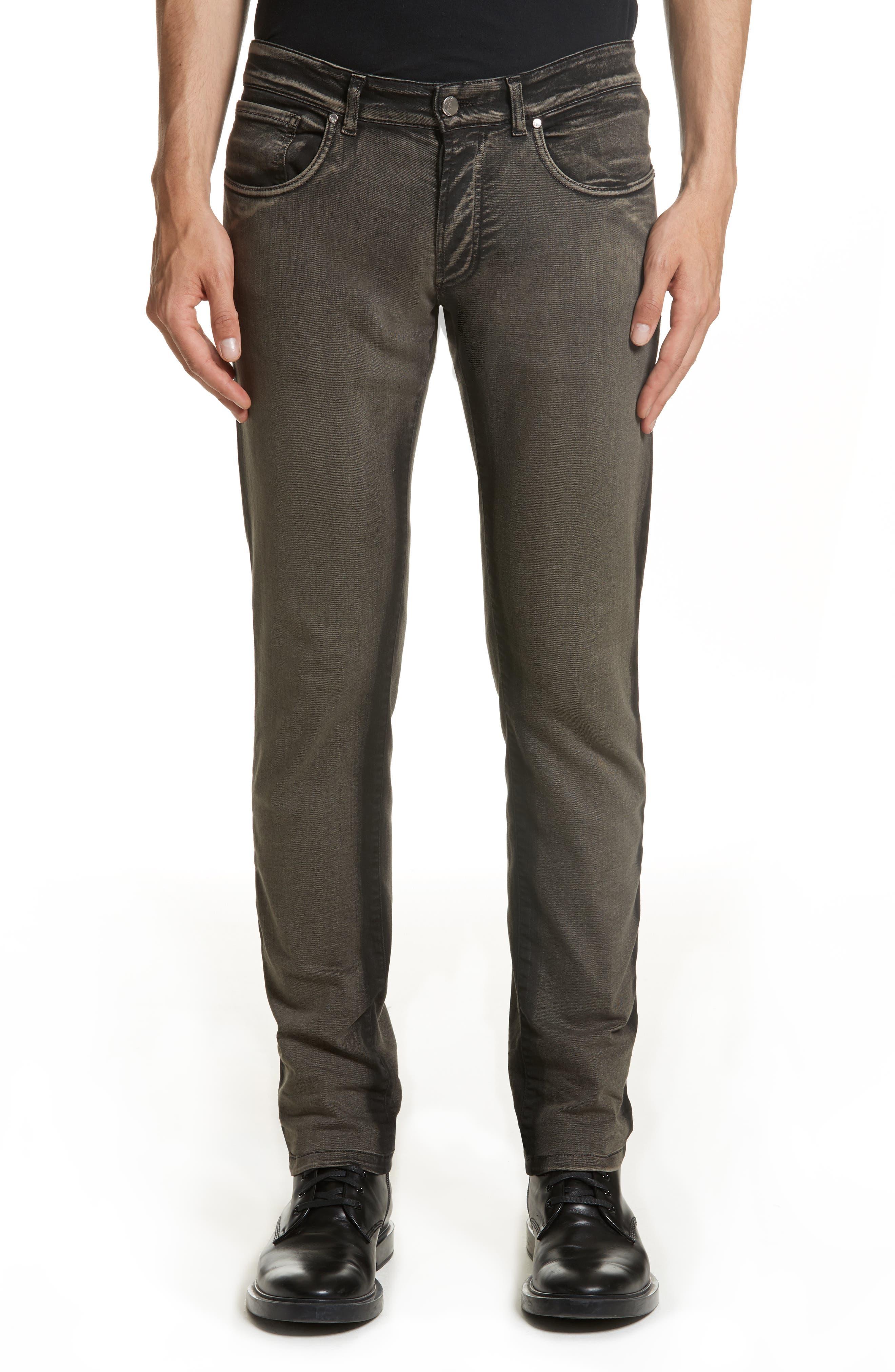 Destroyed Slim Jeans,                         Main,                         color, 250