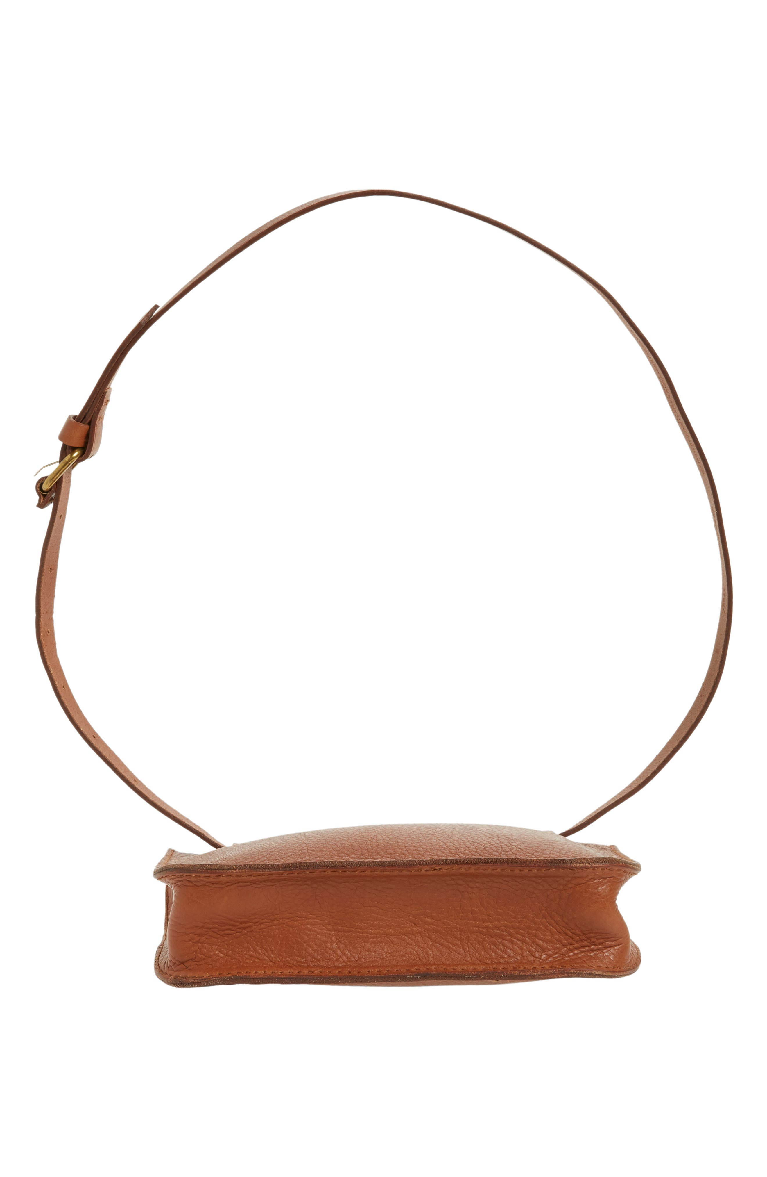 The Simple Pouch Belt Bag,                             Alternate thumbnail 7, color,                             ENGLISH SADDLE
