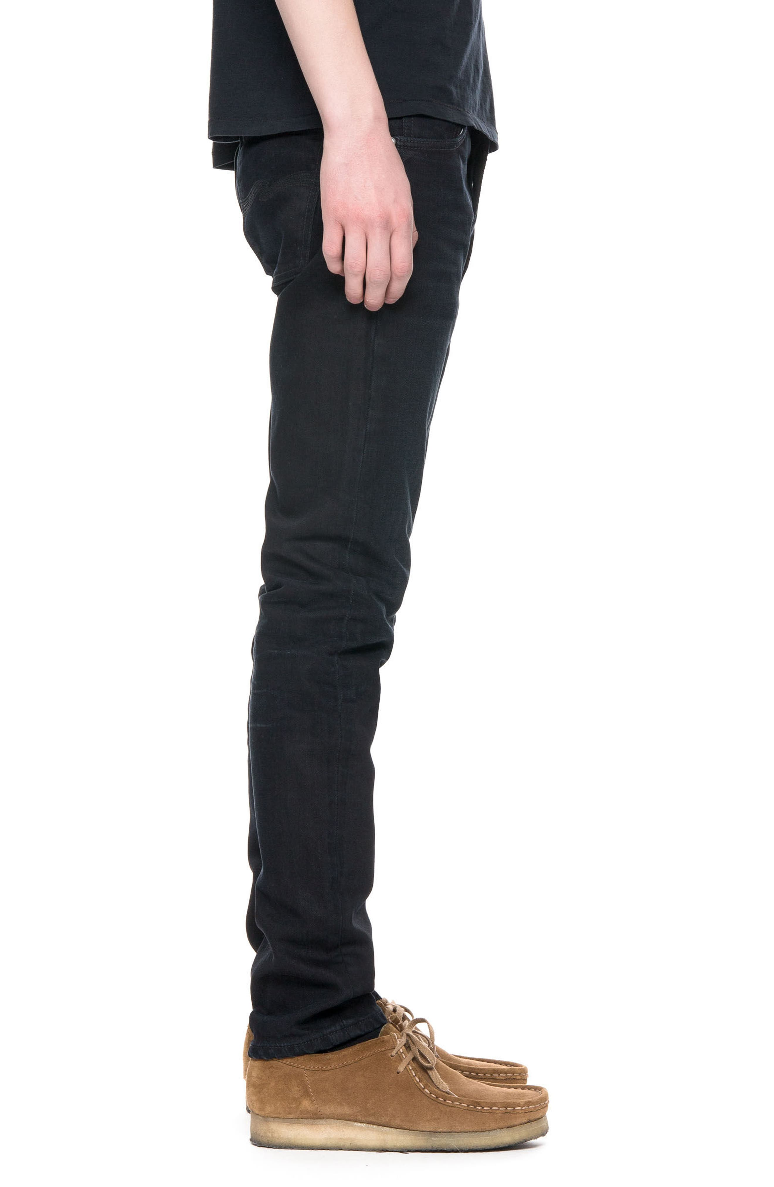 Lean Dean Slouchy Slim Fit Jeans,                             Alternate thumbnail 3, color,                             001