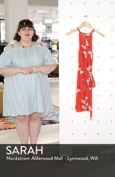 Aloha Baby Print Wrap Dress, sales video thumbnail