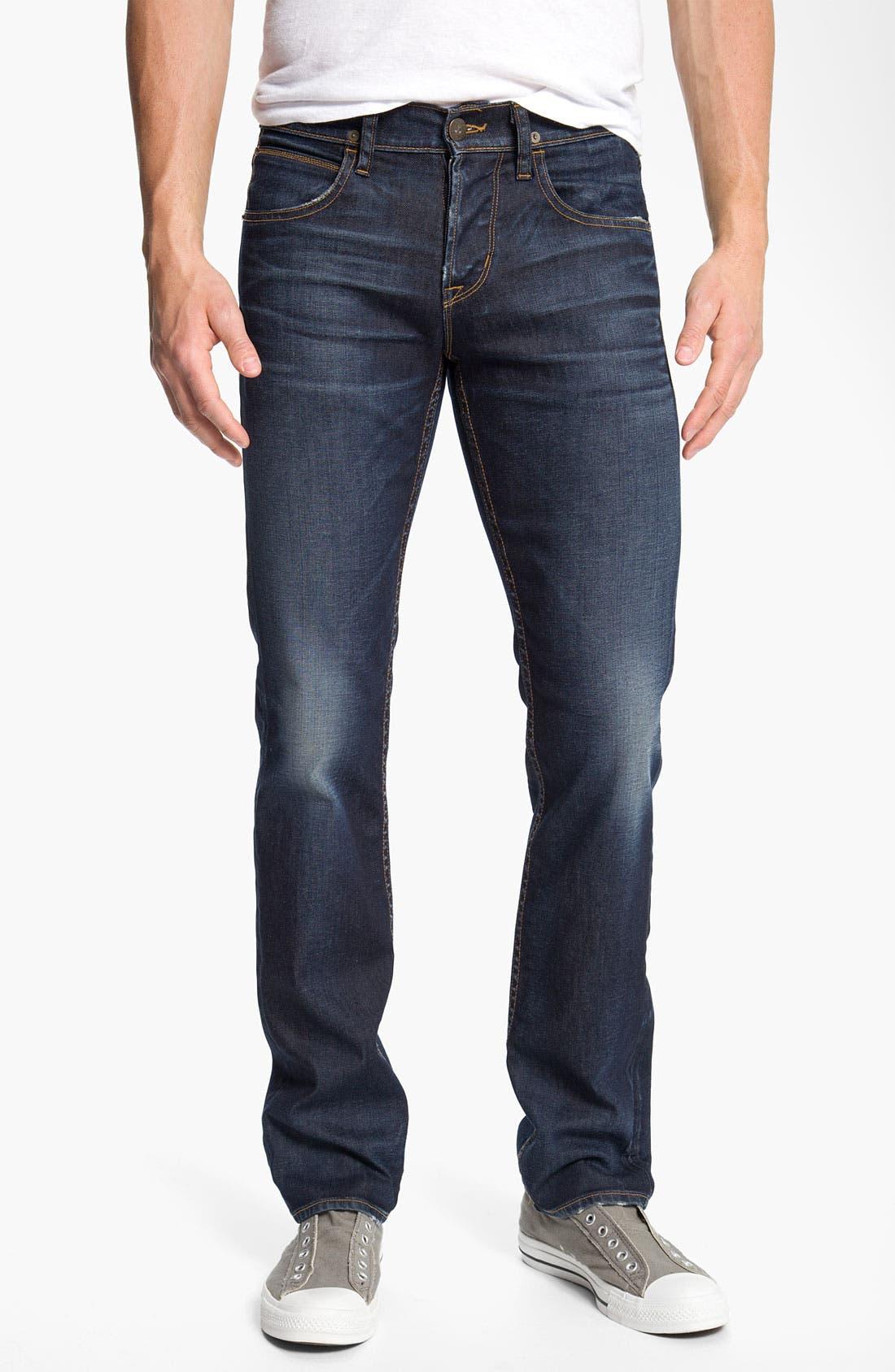 HUDSON JEANS Hudson 'Byron' Slim Straight Leg Jeans, Main, color, 402