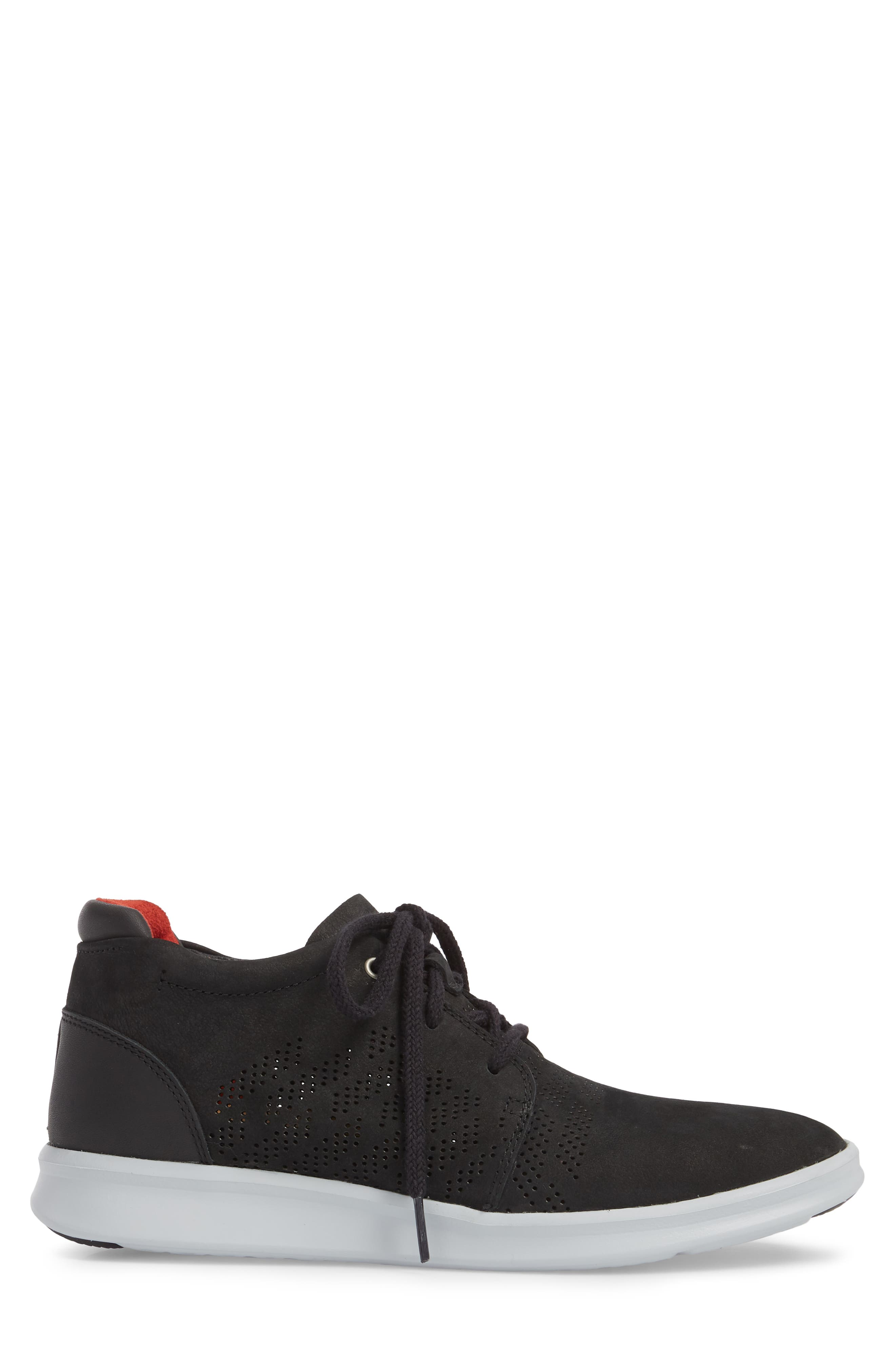 UGG<SUP>®</SUP>,                             Larken Chukka Sneaker,                             Alternate thumbnail 3, color,                             001