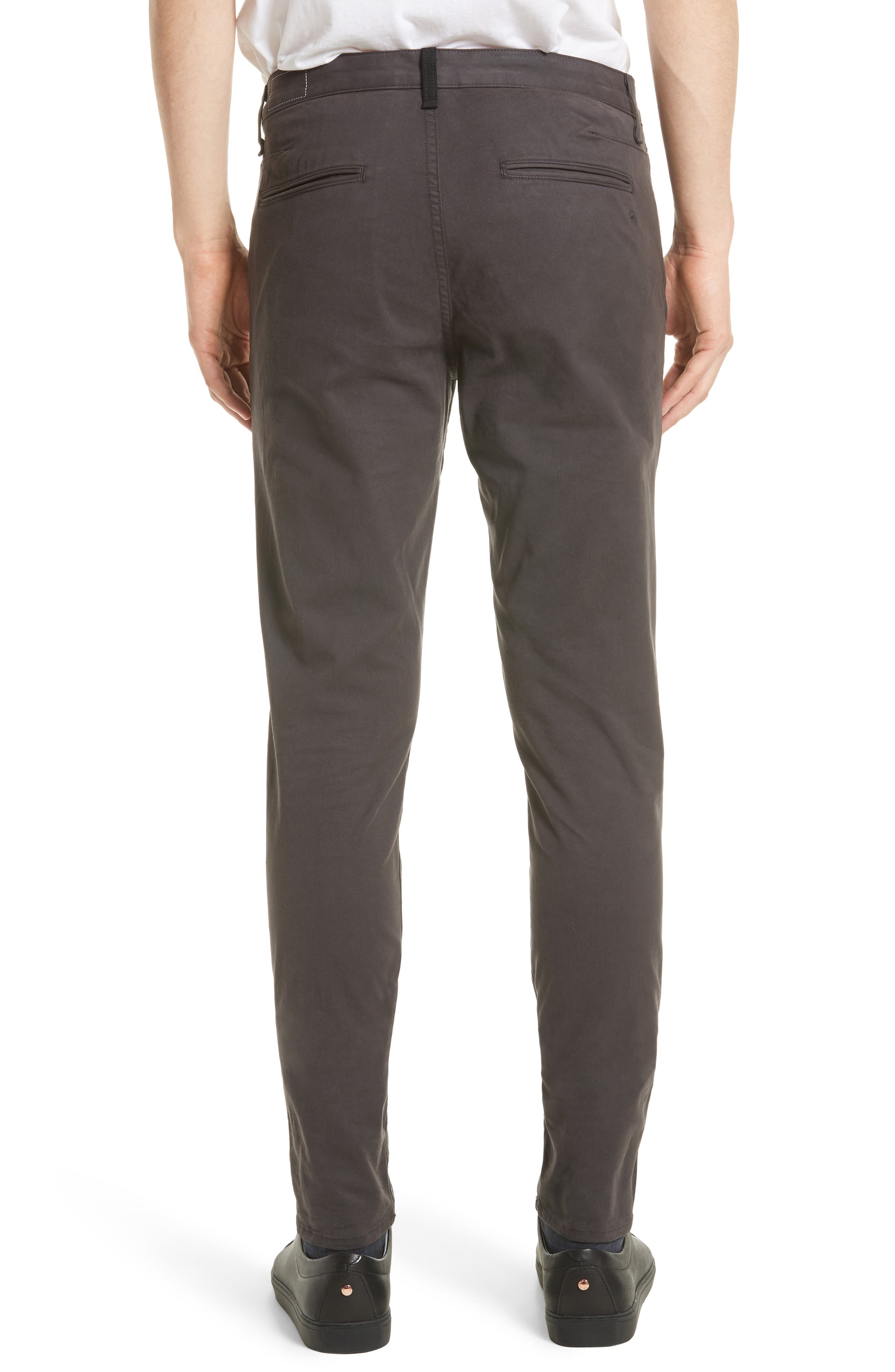 Fit 1 Chinos,                             Alternate thumbnail 2, color,                             GREY