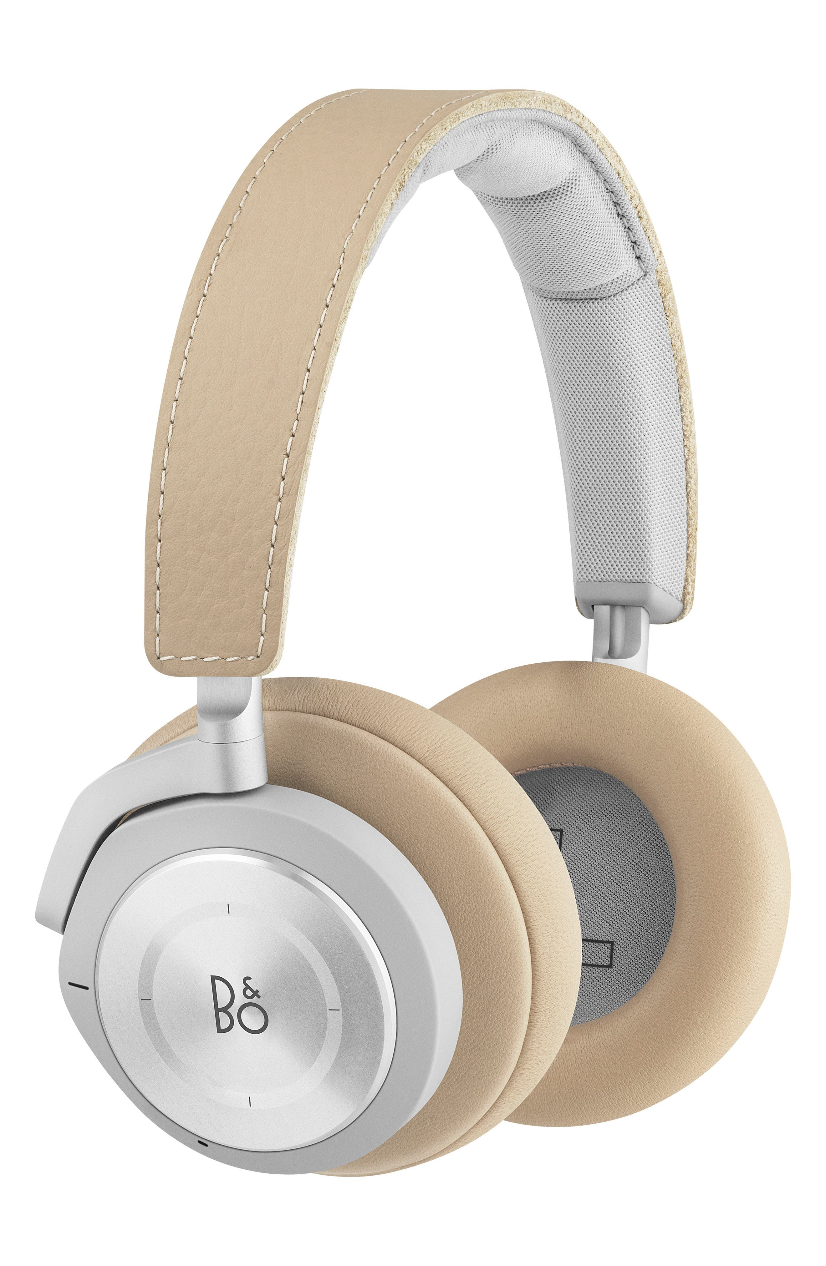 Beoplay H9I Noise Canceling Bluetooth<sup>®</sup> Headphones,                             Main thumbnail 1, color,                             NATURAL