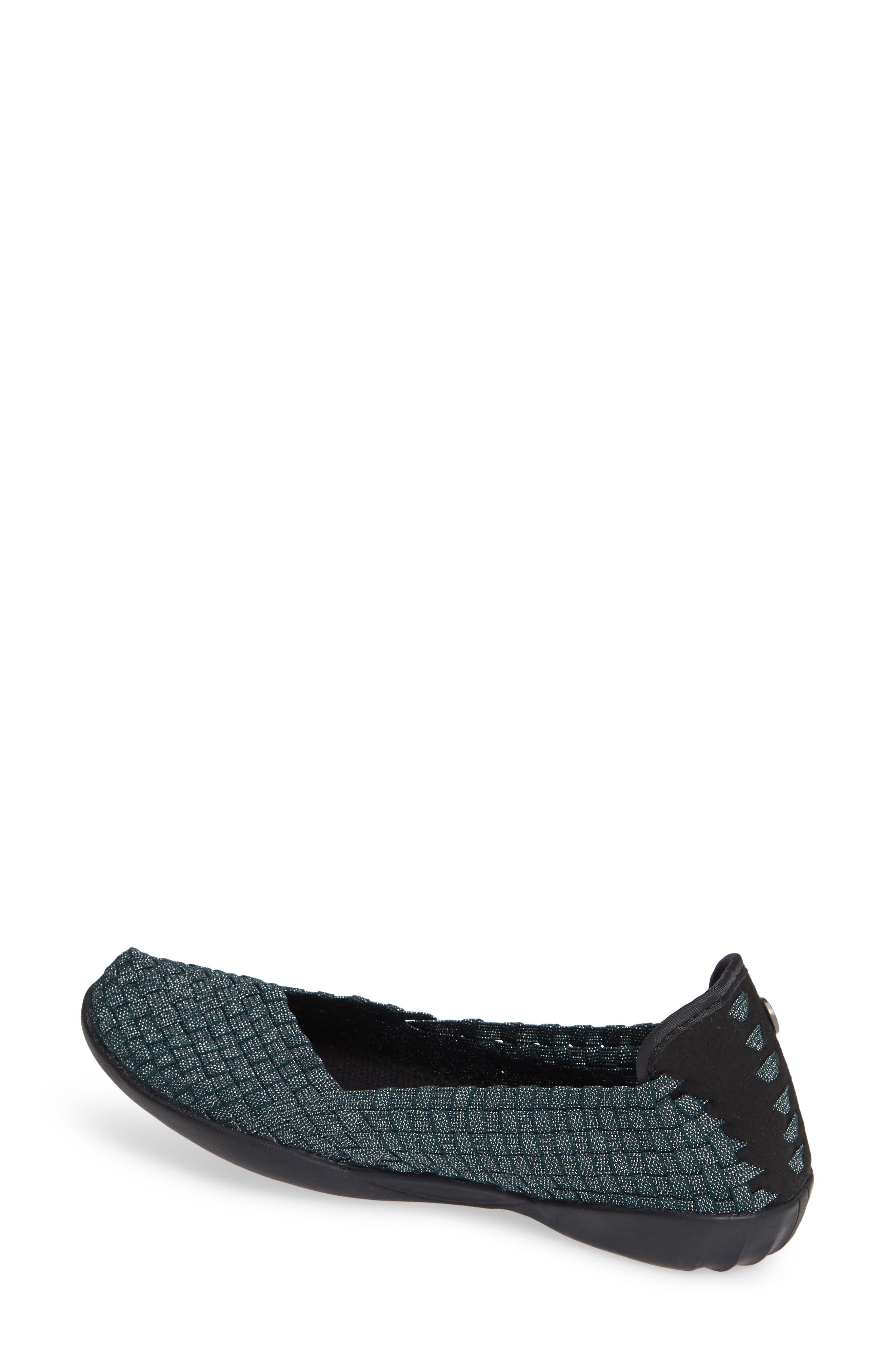 Catwalk Sneaker,                             Alternate thumbnail 2, color,                             DEEP GREEN SHIMMER FABRIC