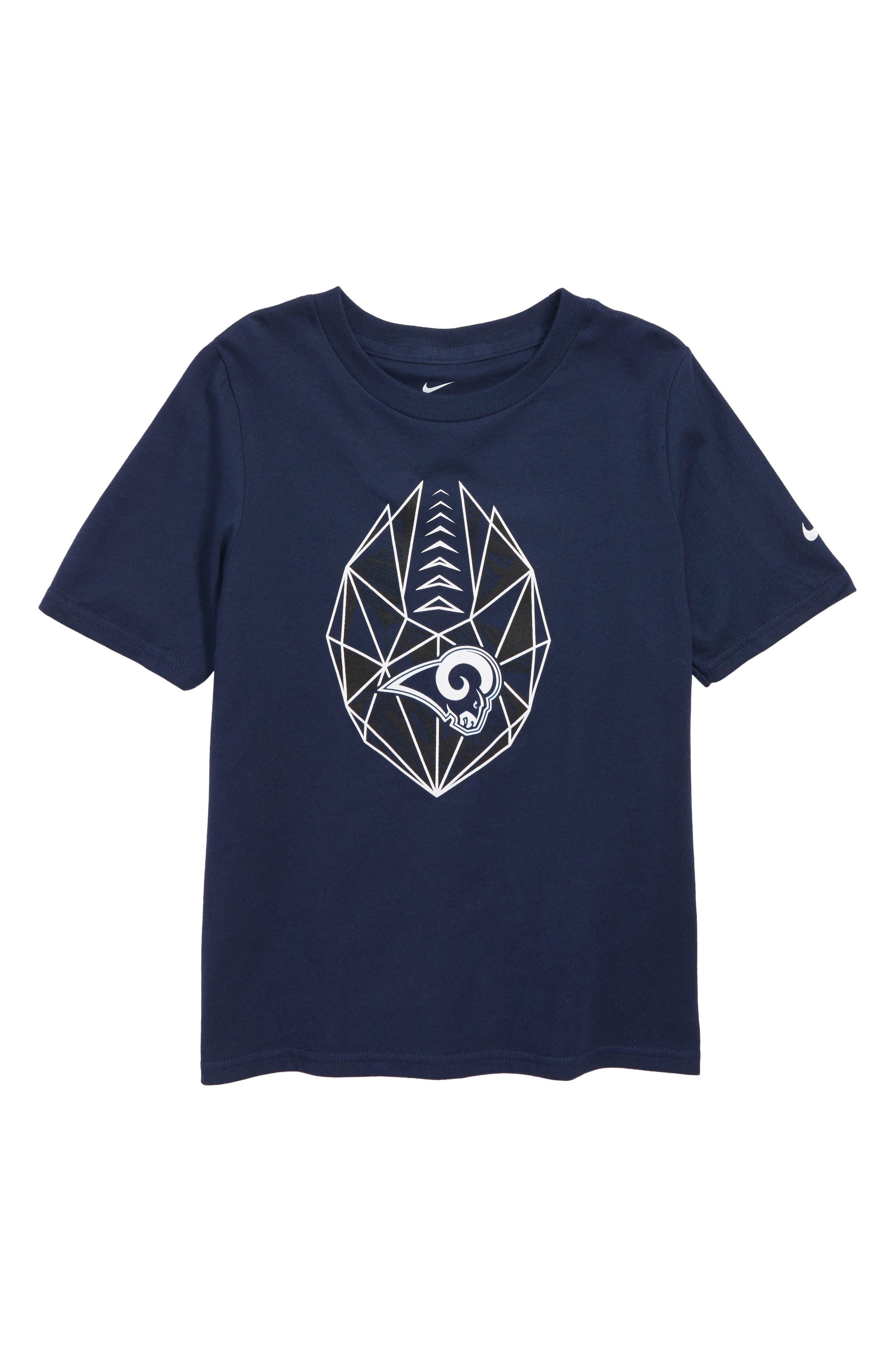 NFL Los Angeles Rams Dry Legend Lift T-Shirt,                         Main,                         color, NAVY