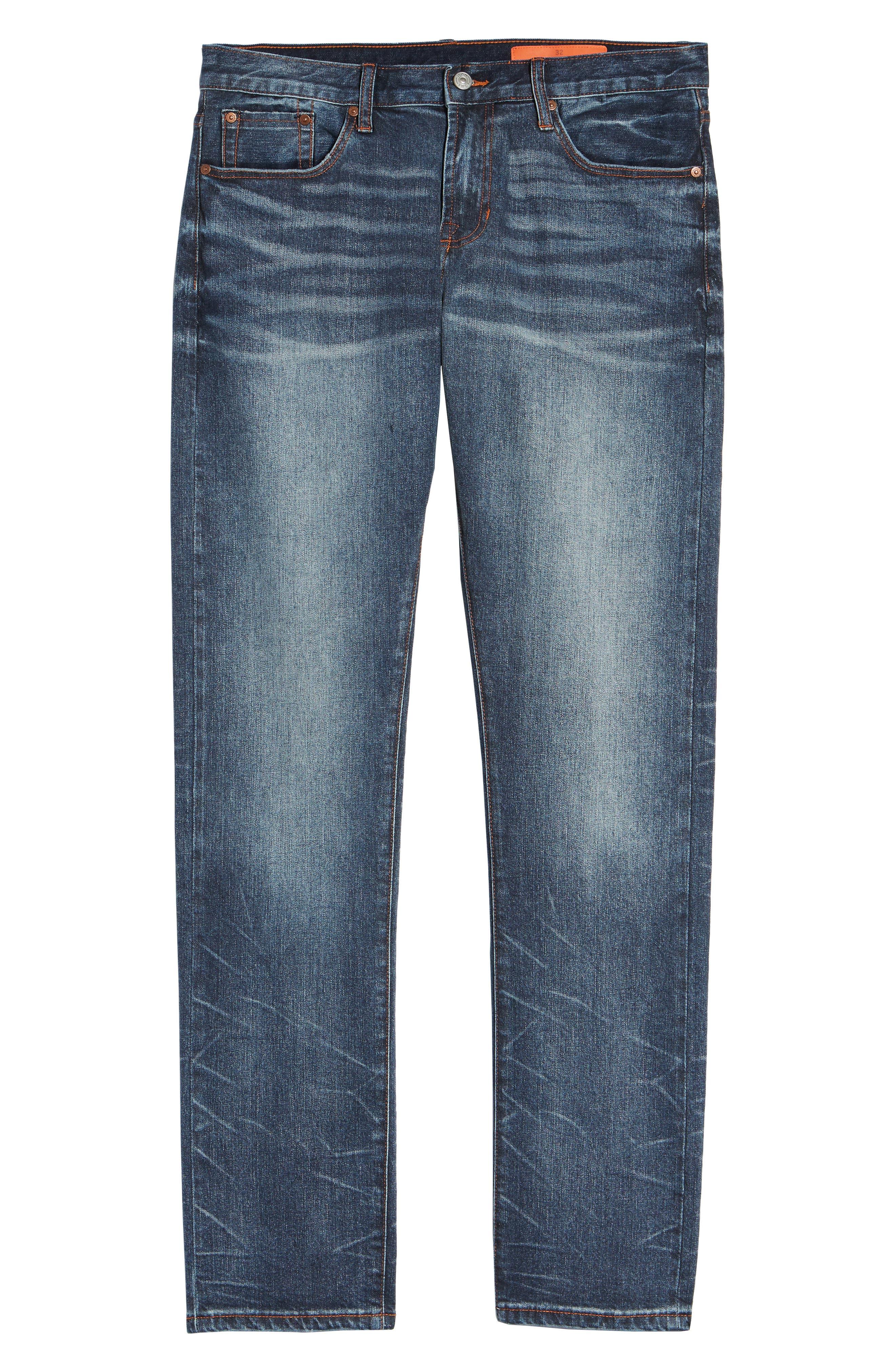 Mick Slim Fit Jeans,                             Alternate thumbnail 6, color,                             LAFAYETTE