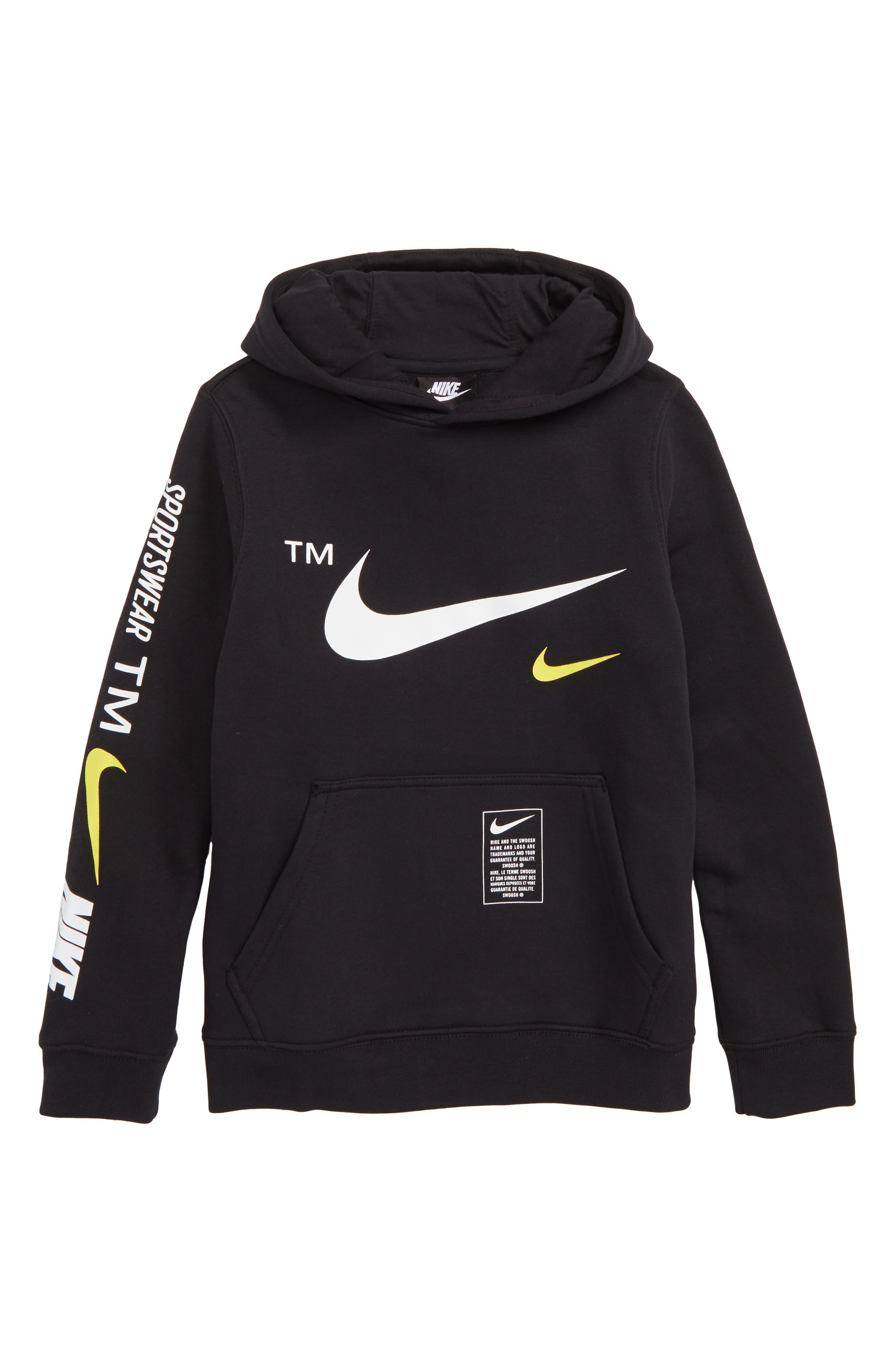 Boys Nike Sportswear Club Fleece Hoodie