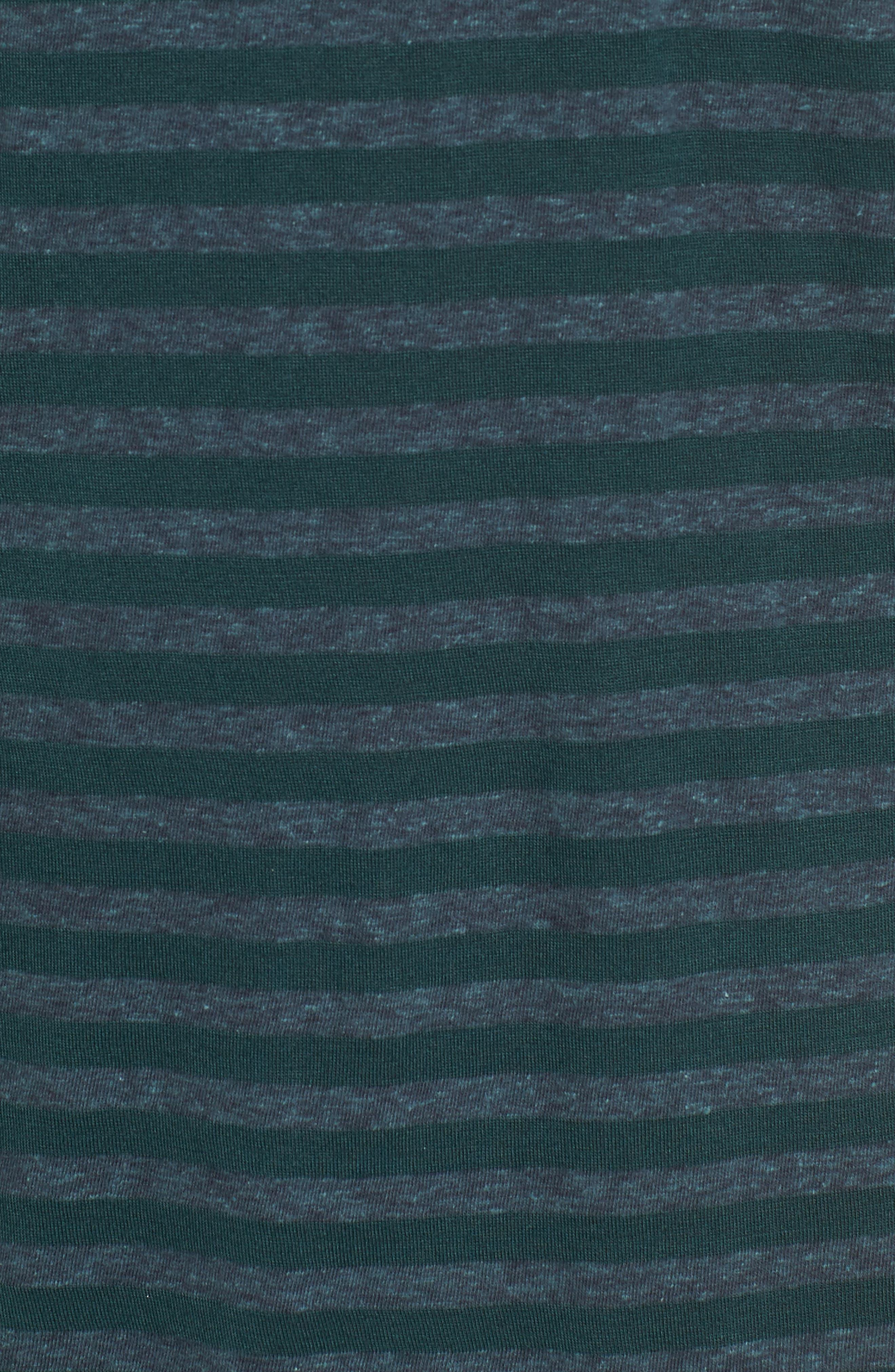 Stripe Ringer T-Shirt,                             Alternate thumbnail 5, color,