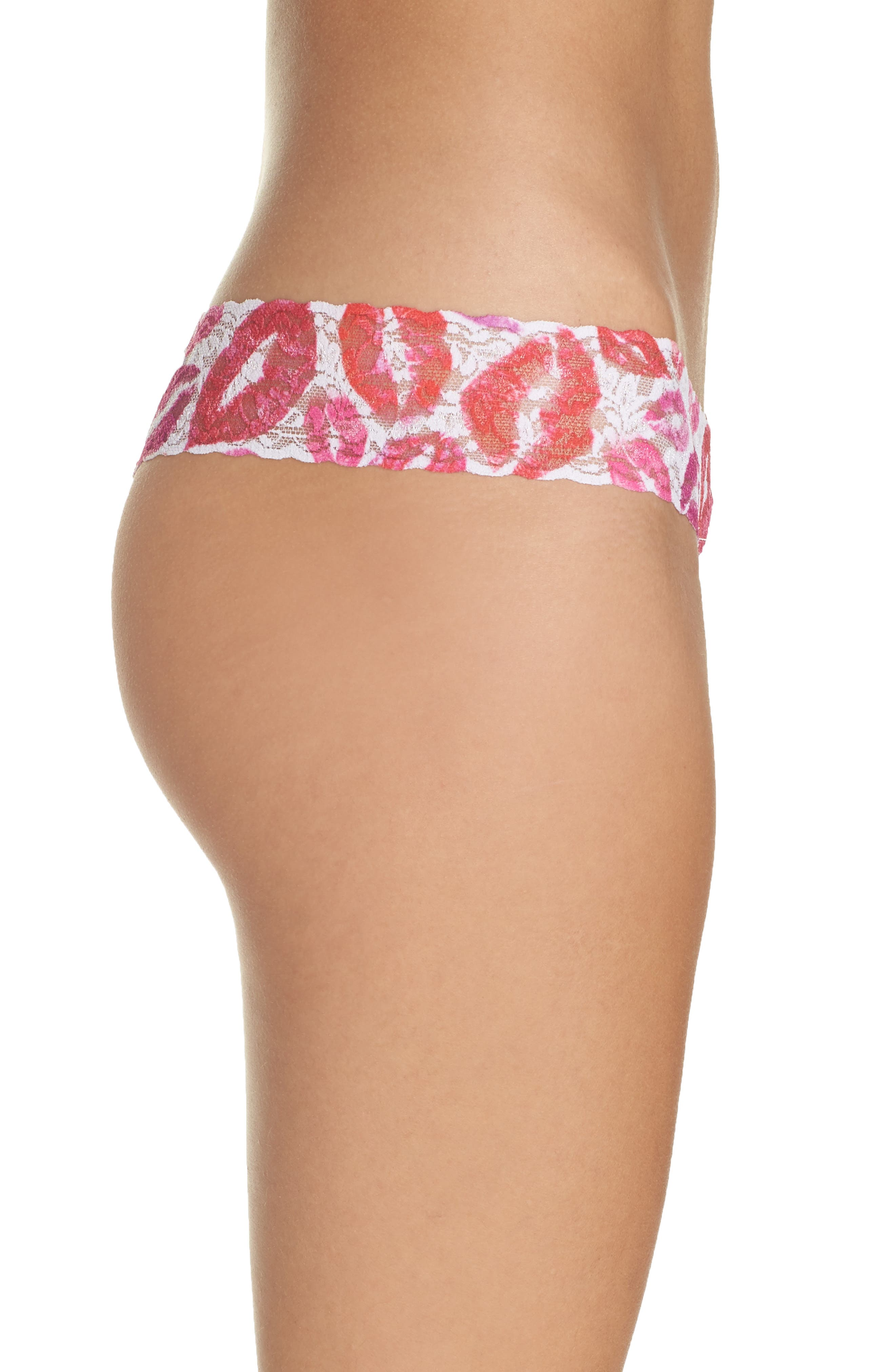 Valentines Low Rise Thong,                             Alternate thumbnail 3, color,                             600
