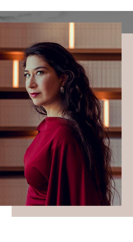 Jewelry designer Maria Tash.
