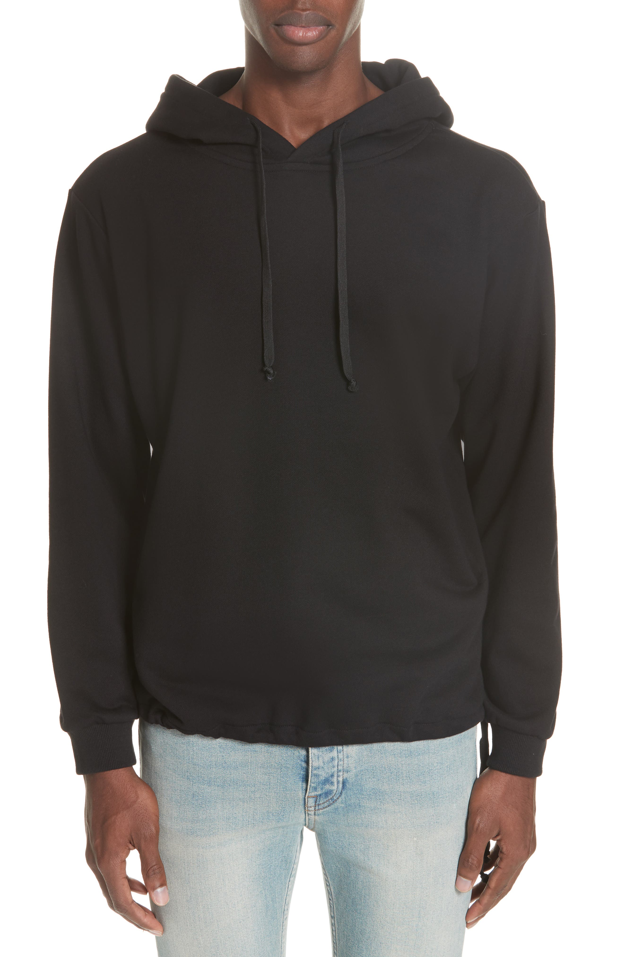 Moon Couch Surf Hoodie,                             Main thumbnail 1, color,                             BLACK