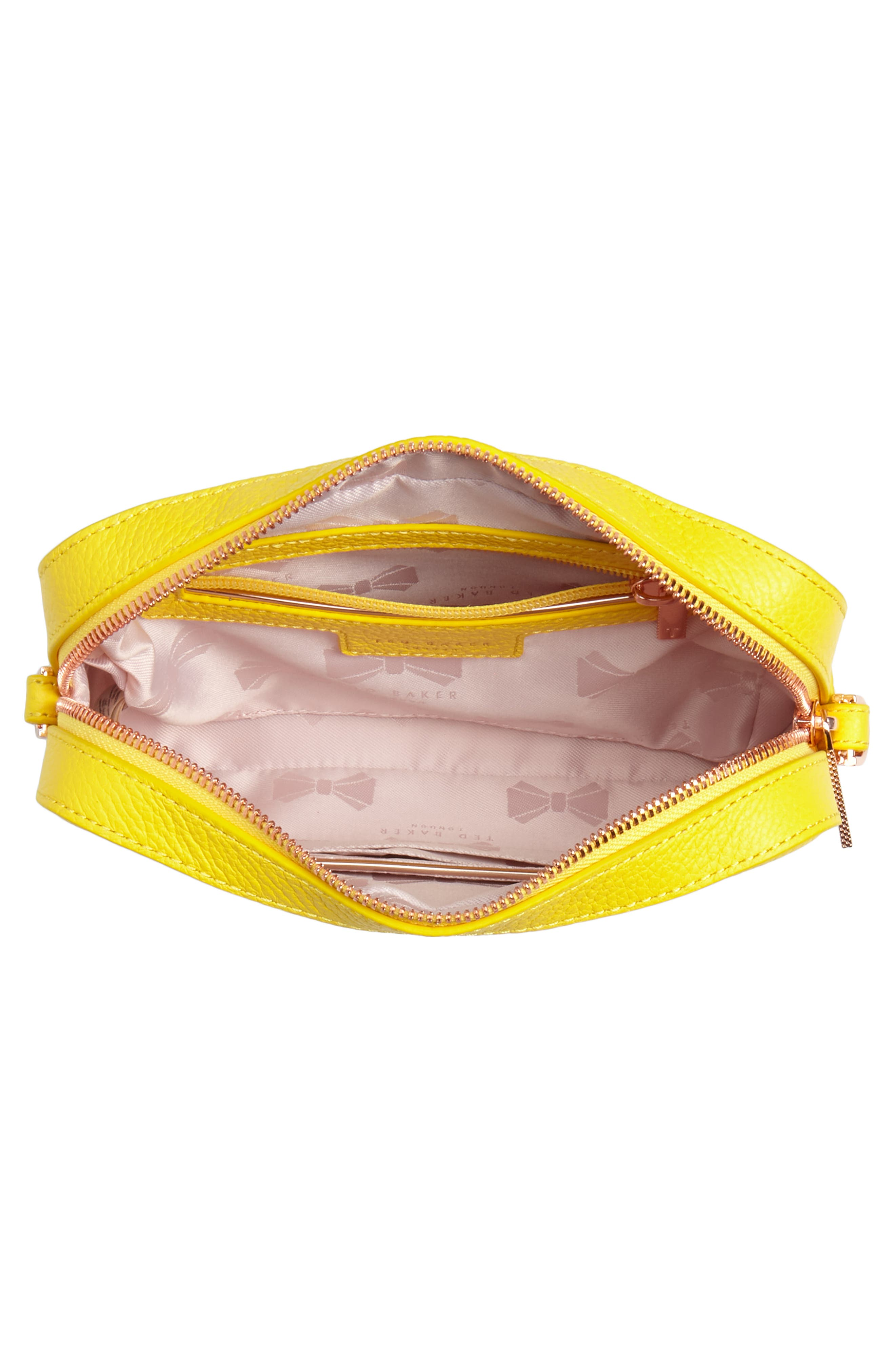 Salia Leather Camera Bag,                             Alternate thumbnail 8, color,