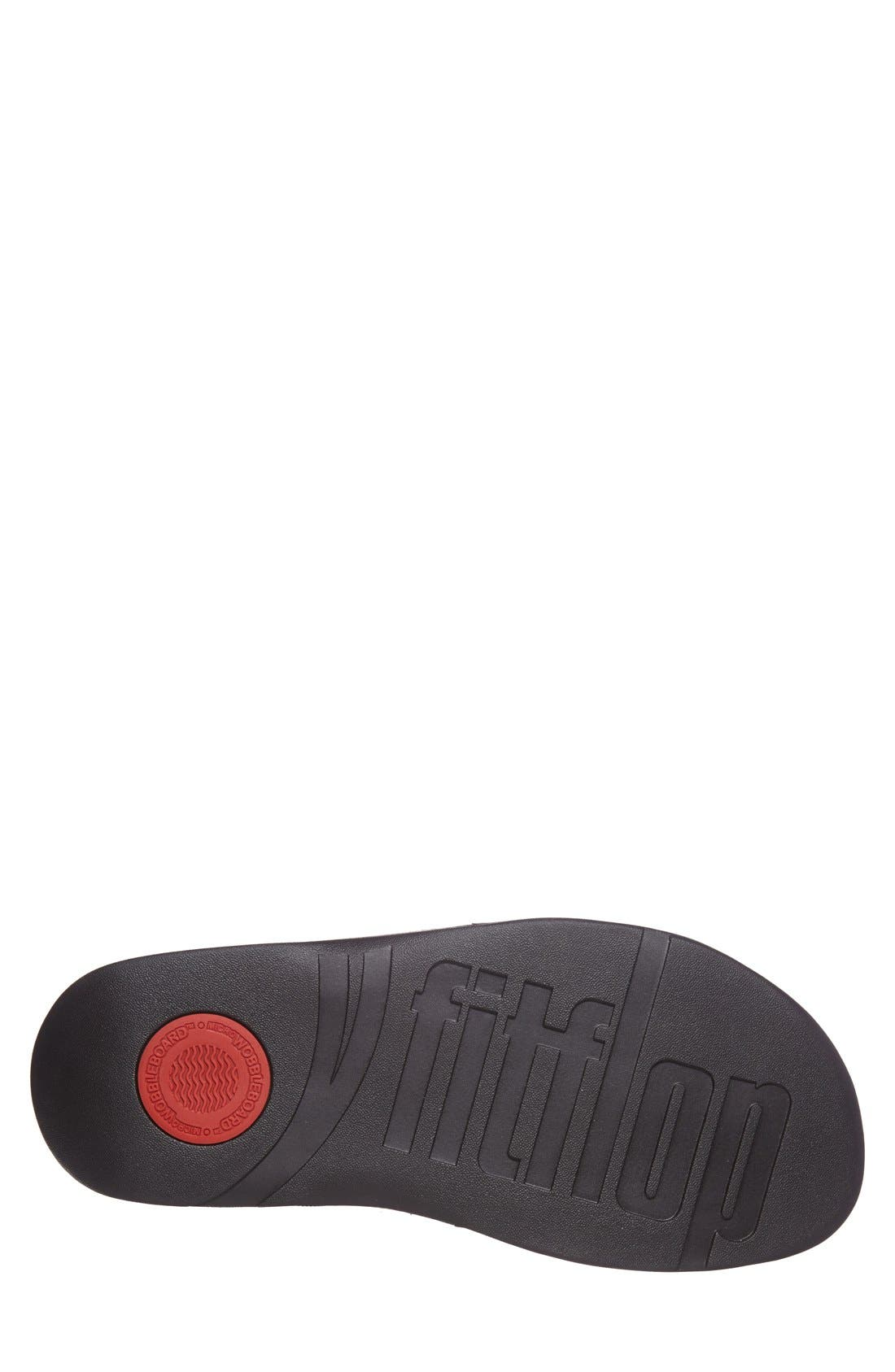 Xosa<sup>™</sup> Leather Slide Sandal,                             Alternate thumbnail 5, color,                             001
