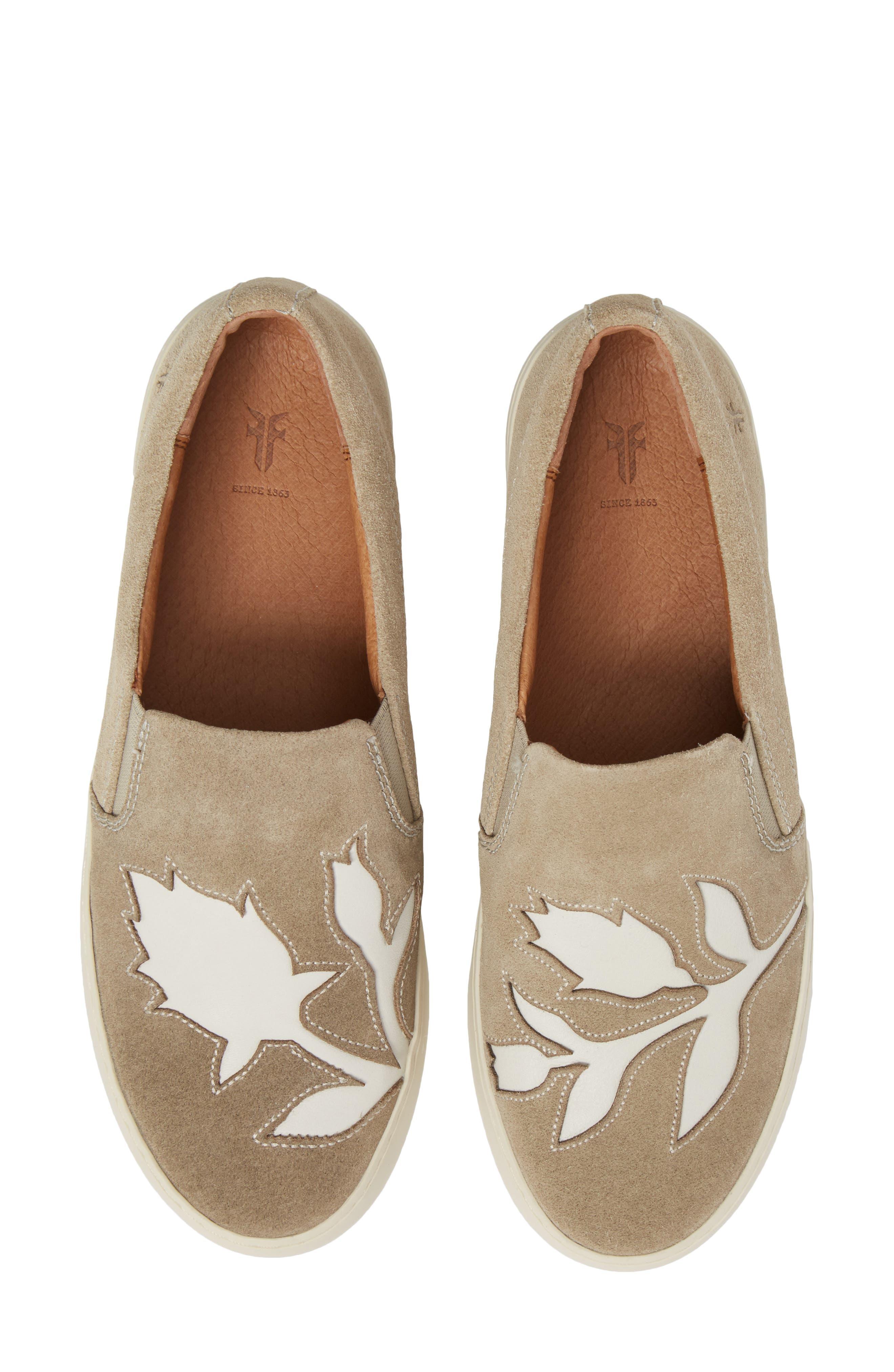 Lena Floral Slip-On Sneaker,                             Main thumbnail 2, color,