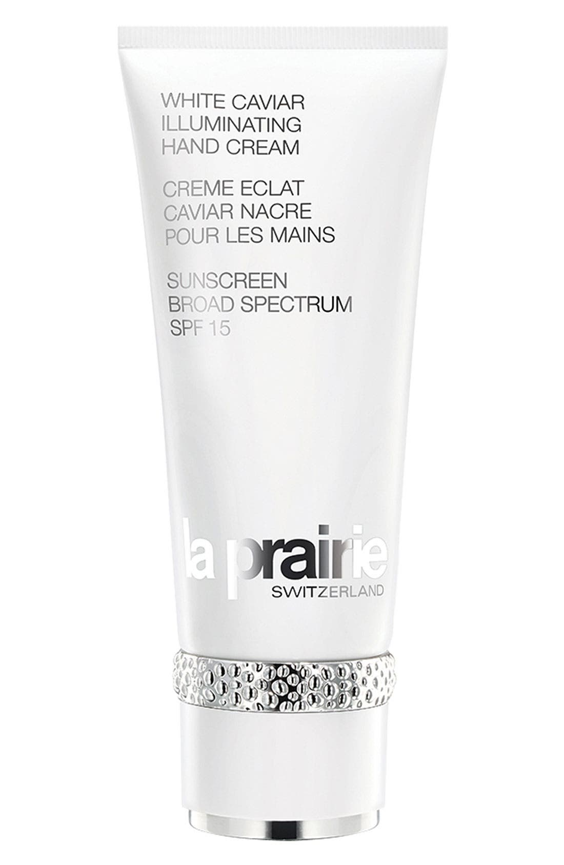 'White Caviar' Illuminating Hand Cream Broad Spectrum SPF 15,                             Main thumbnail 1, color,                             000