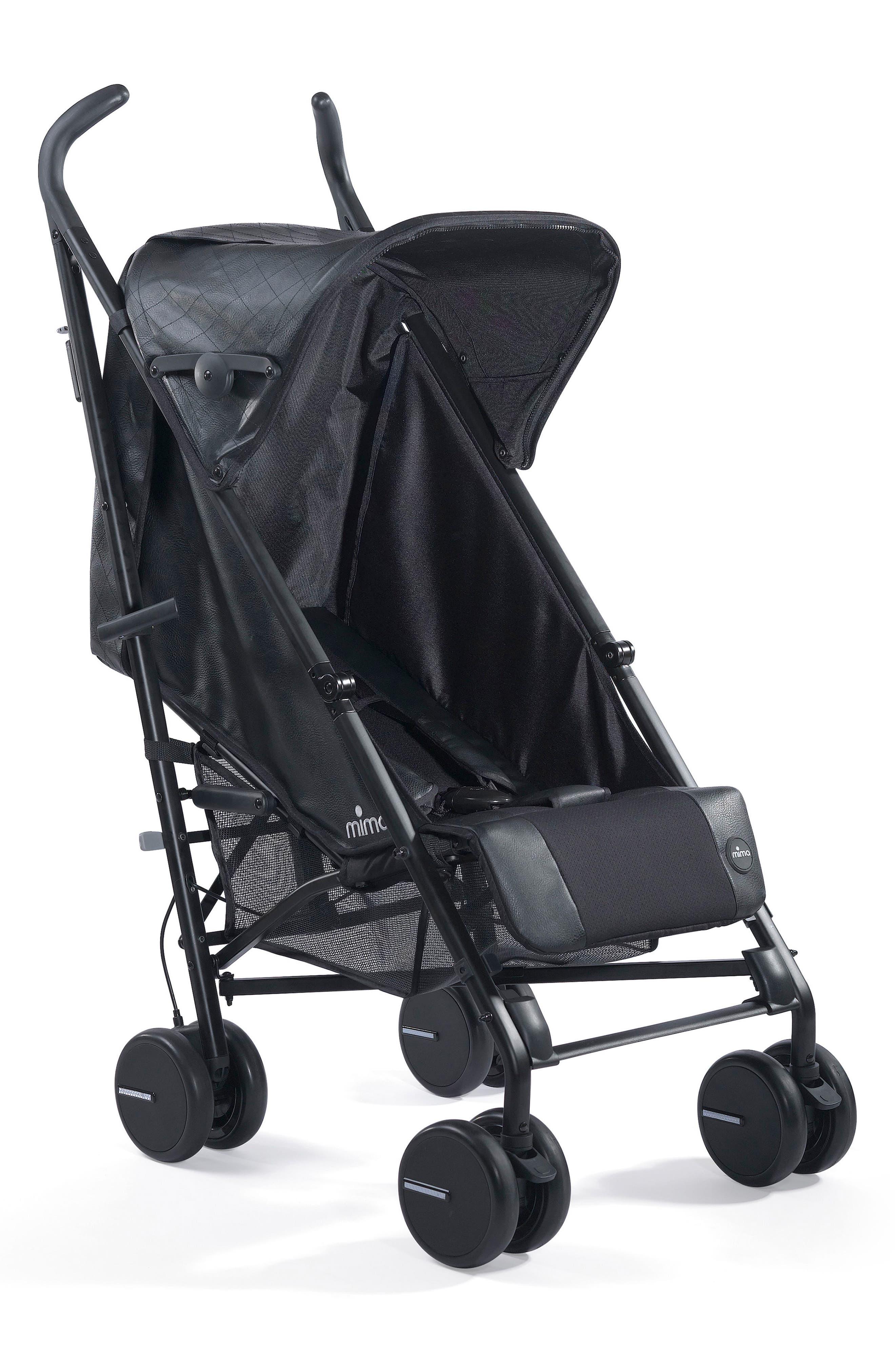 Bo Stroller,                         Main,                         color, BLACK