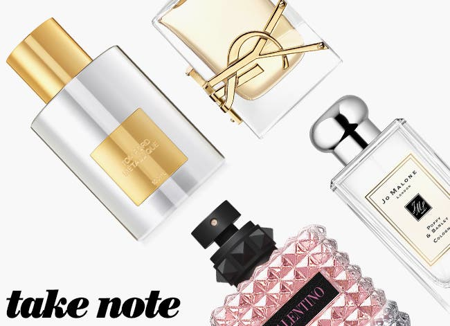 Take note: city-inspired scents.