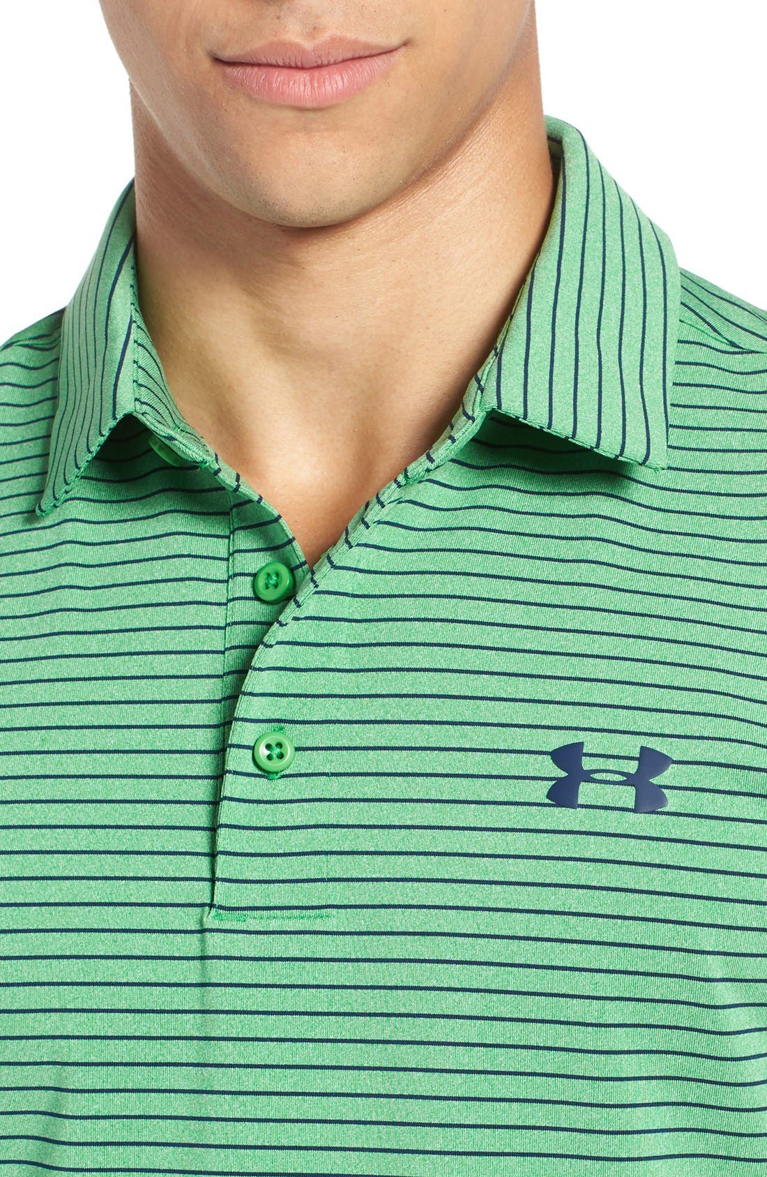 'Playoff' Loose Fit Short Sleeve Polo,                             Alternate thumbnail 226, color,