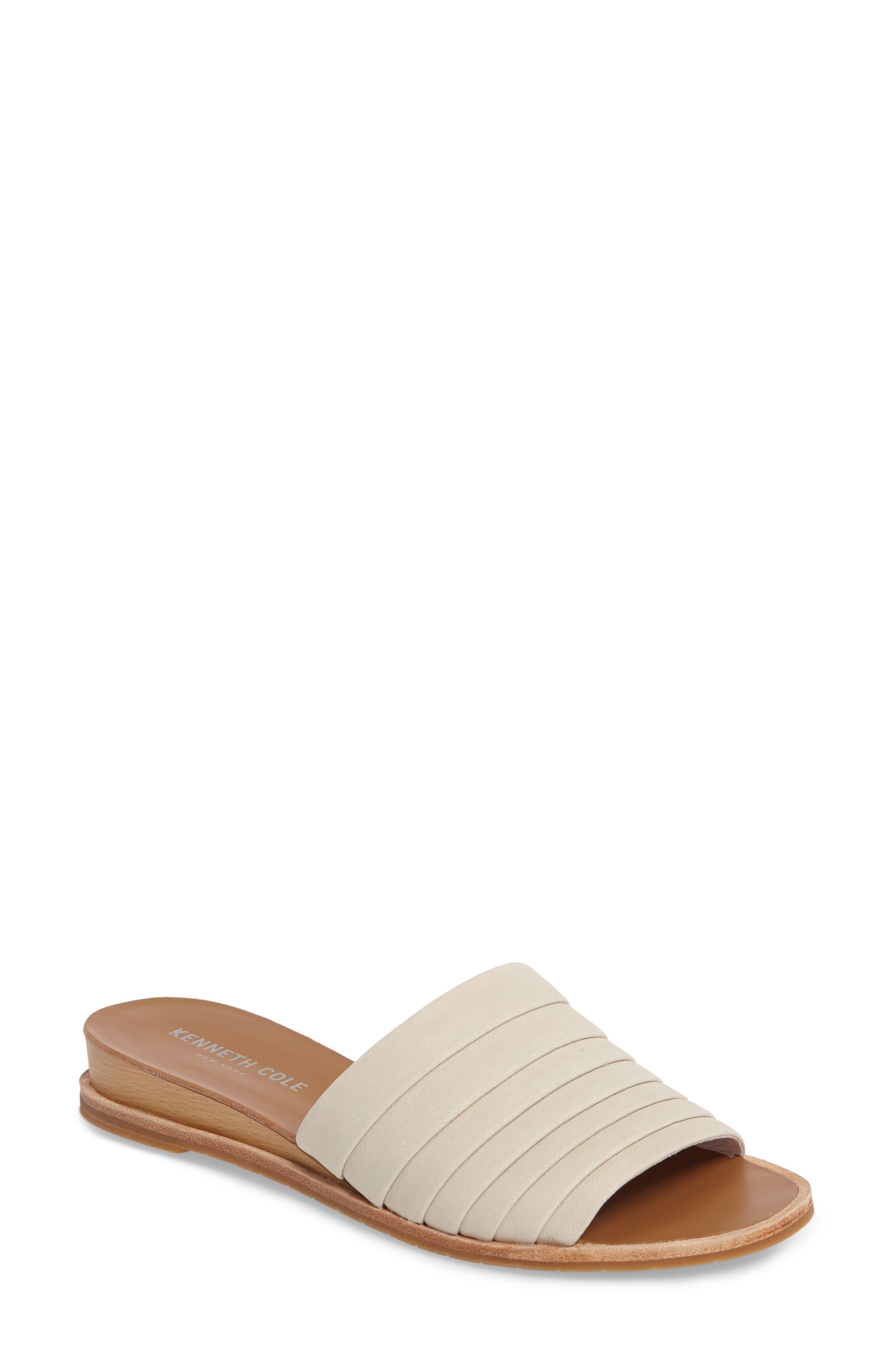 Janie Slide Sandal,                         Main,                         color, 100