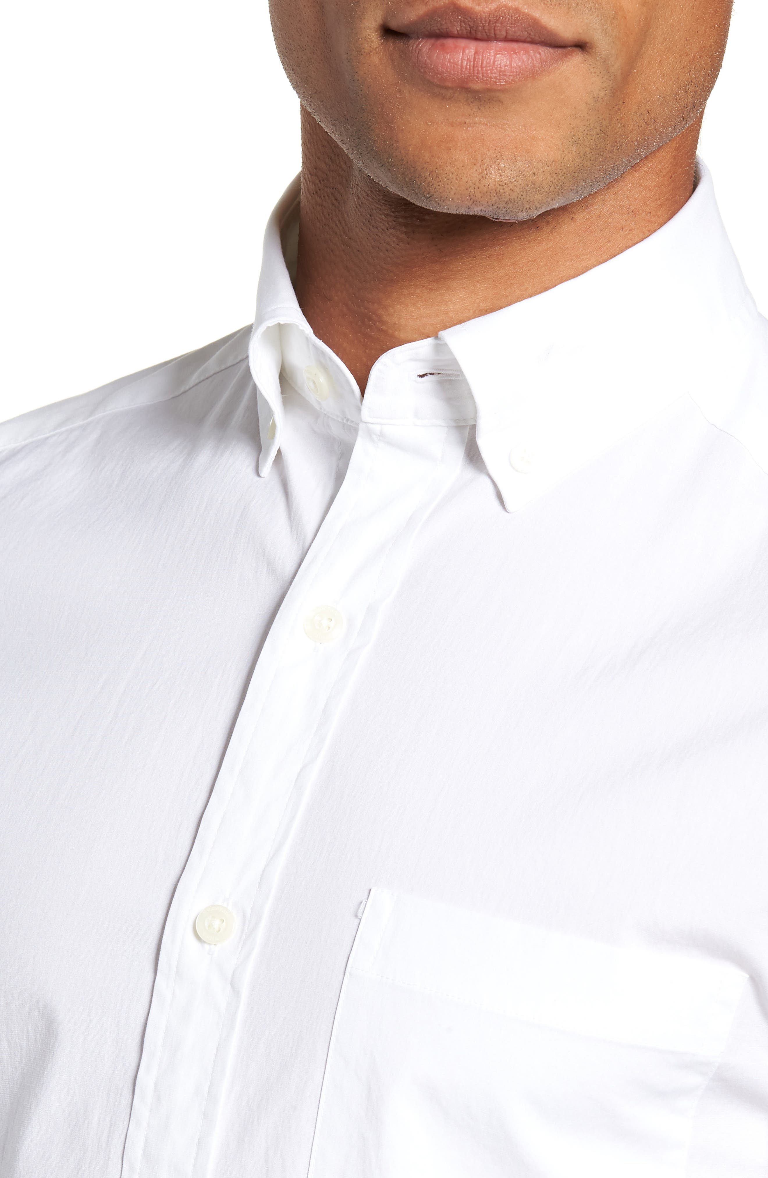 Eoe Murray Regular Fit Sport Shirt,                             Alternate thumbnail 2, color,                             WHITE CAP