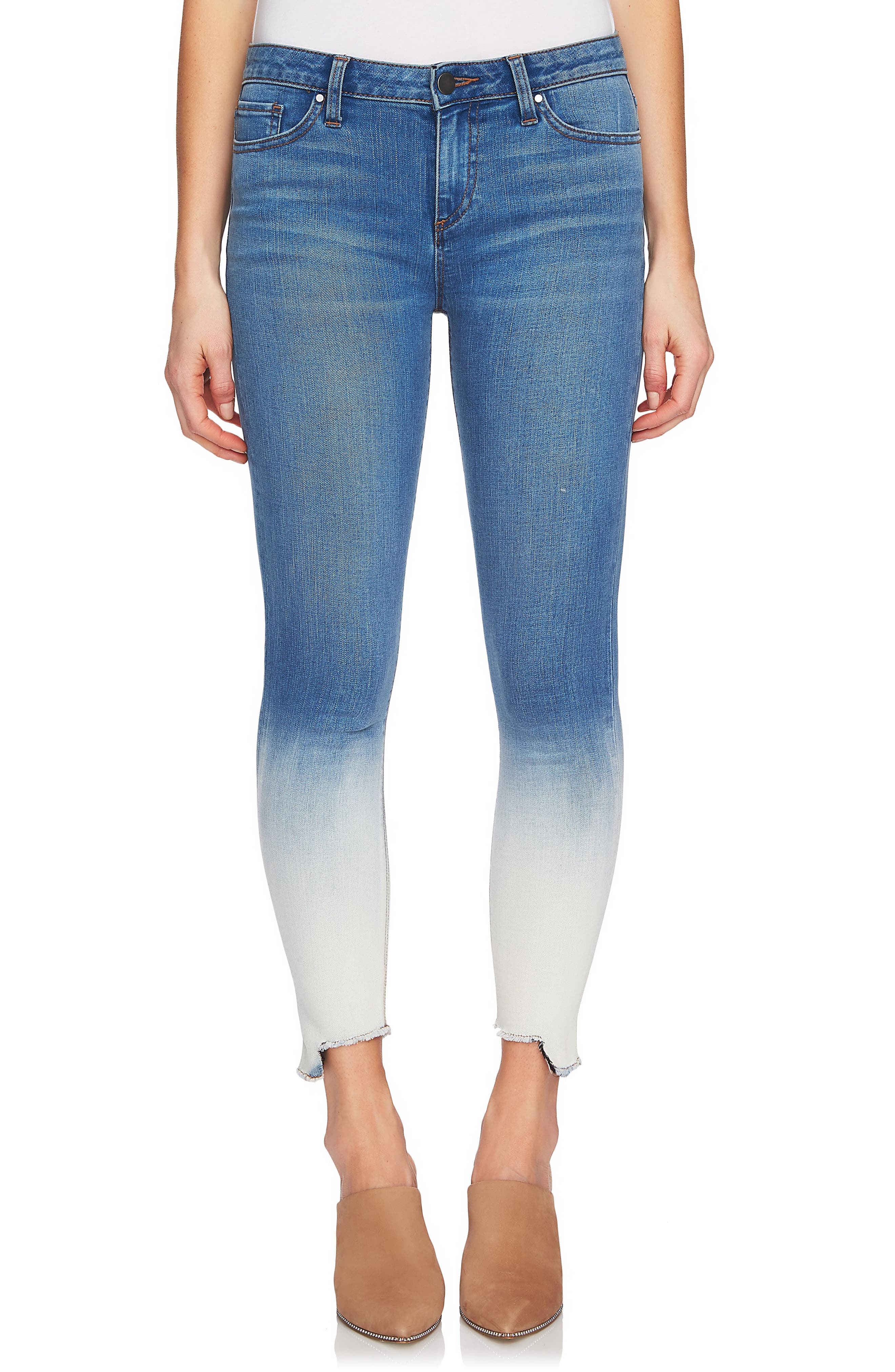 Dip Dye Skinny Jeans,                         Main,                         color, 458