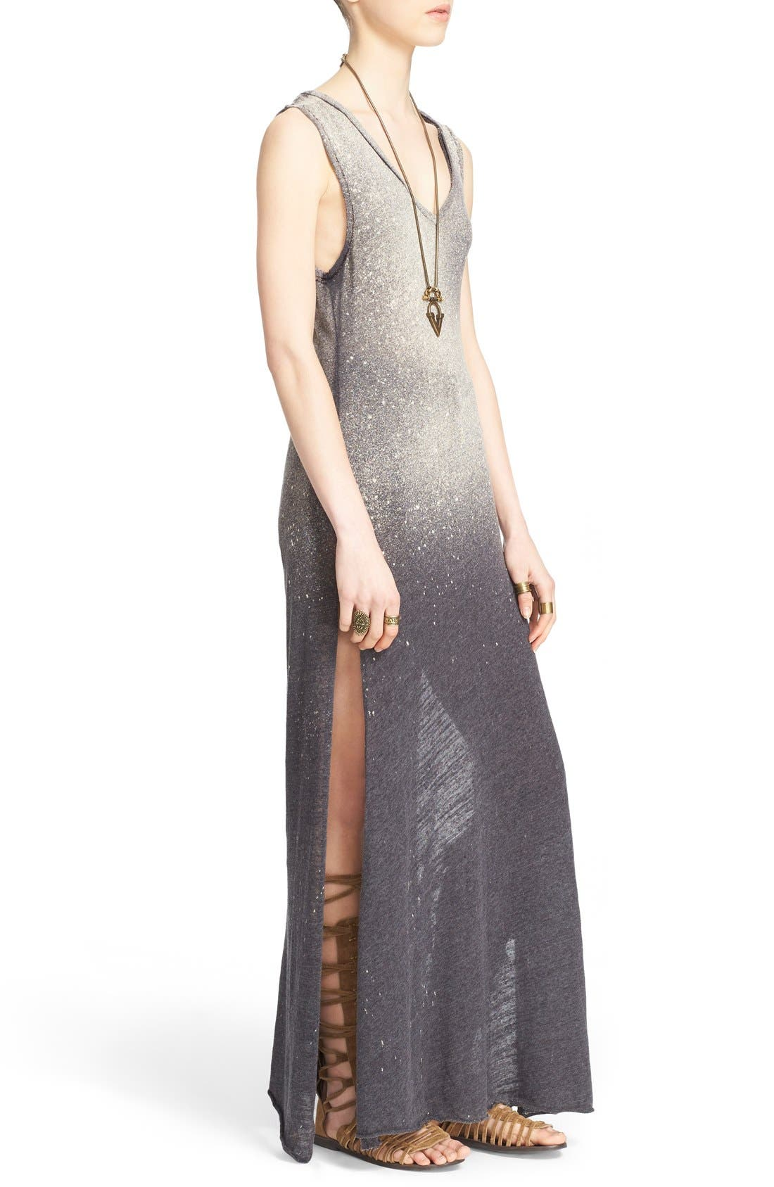 FREE PEOPLE,                             'Galaxy' Maxi Dress,                             Alternate thumbnail 2, color,                             001