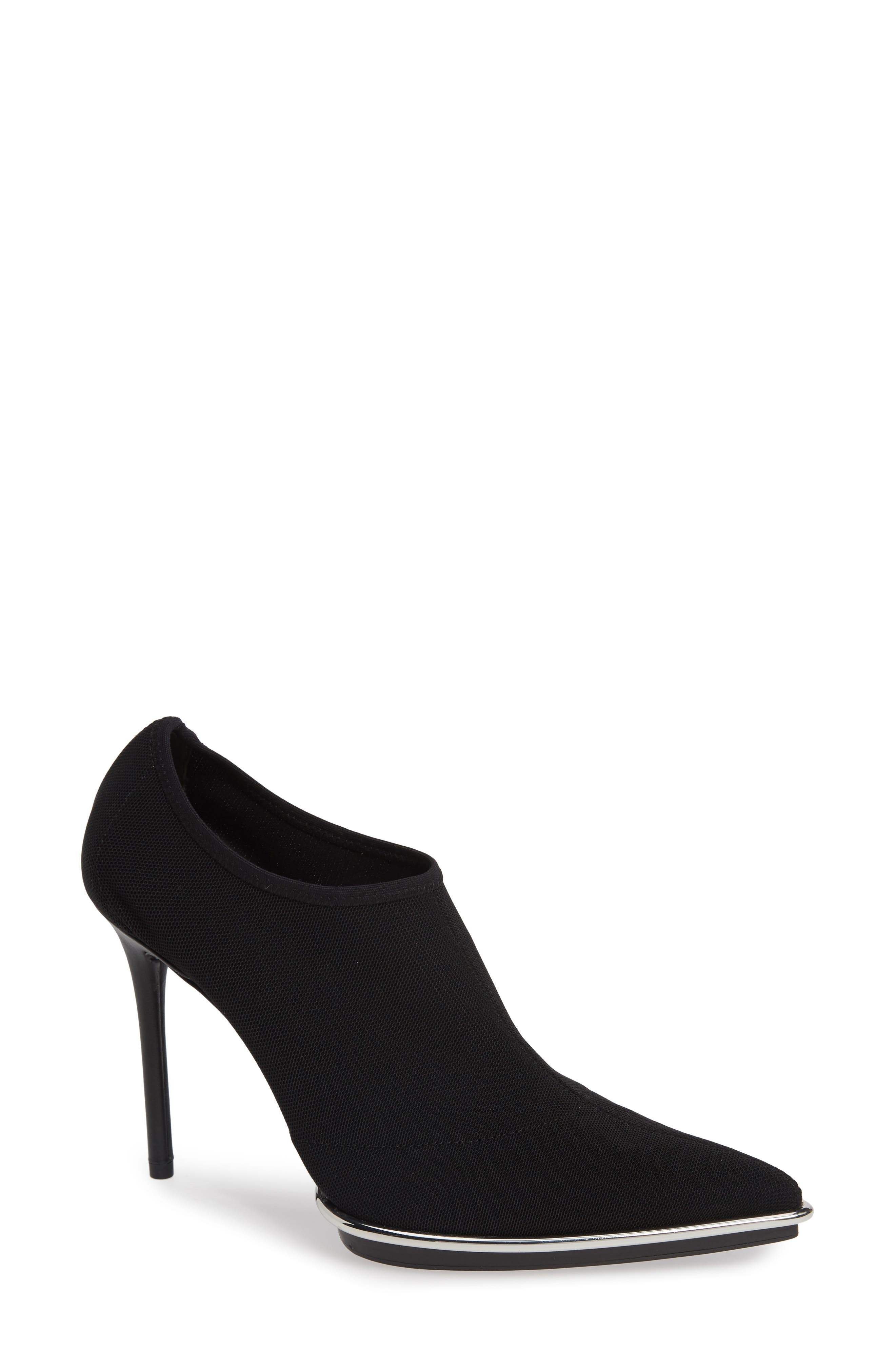 Alexander Wang Cara Halo Stretch Bootie, Black