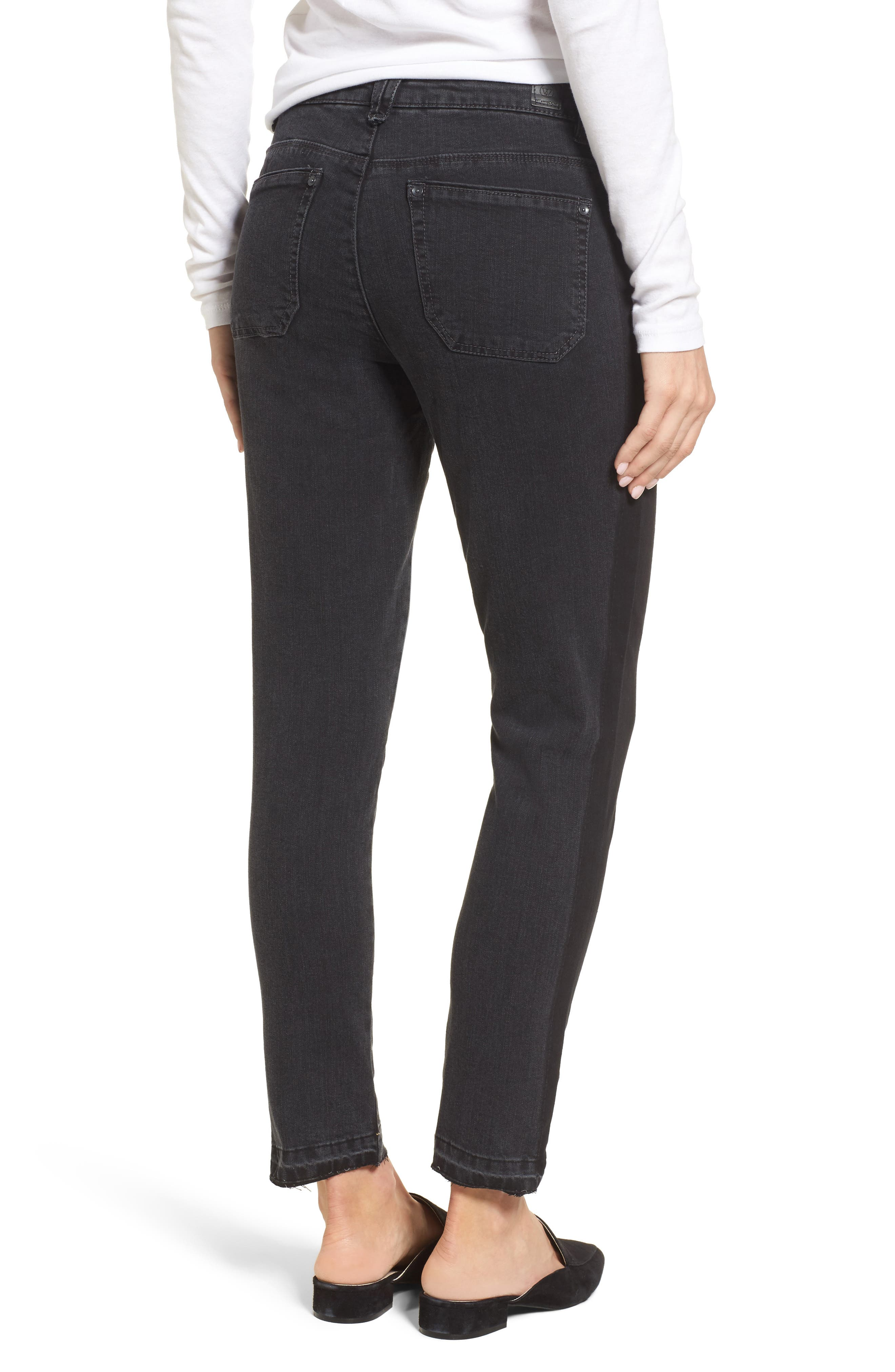 Tuxedo Stripe Skinny Jeans,                             Alternate thumbnail 2, color,                             020