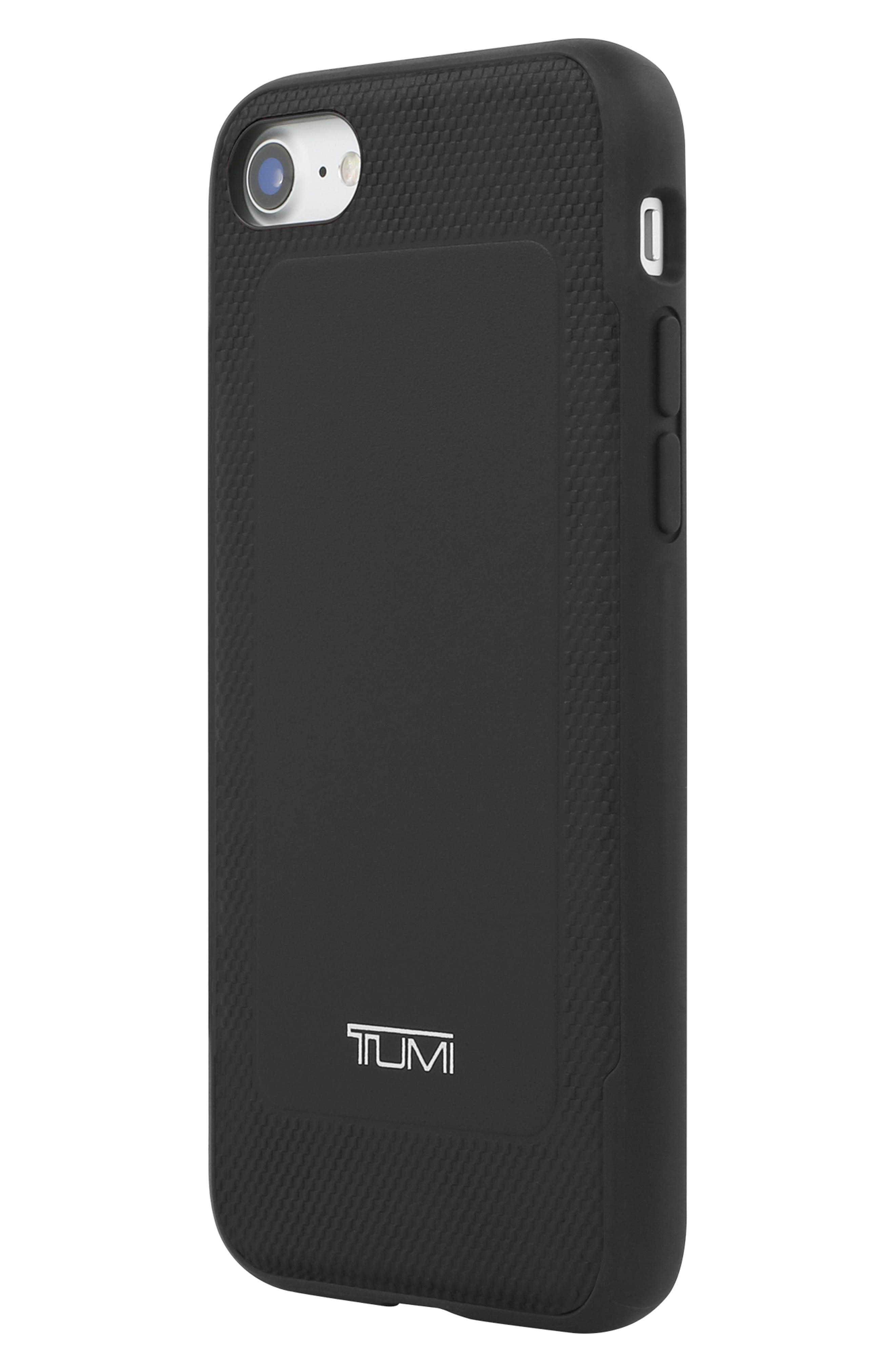 Leather iPhone 8 Case,                             Alternate thumbnail 10, color,