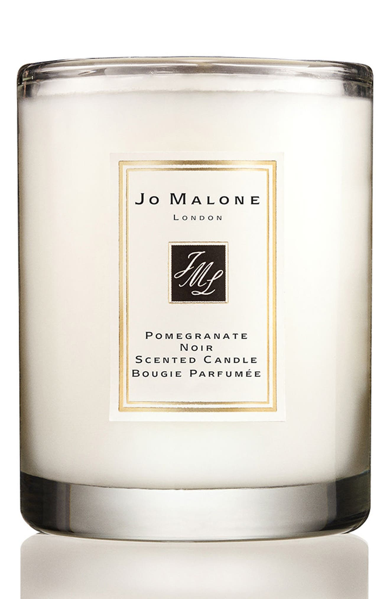 Jo Malone<sup>™</sup> Pomegranate Noir Scented Travel Candle,                             Main thumbnail 1, color,                             000
